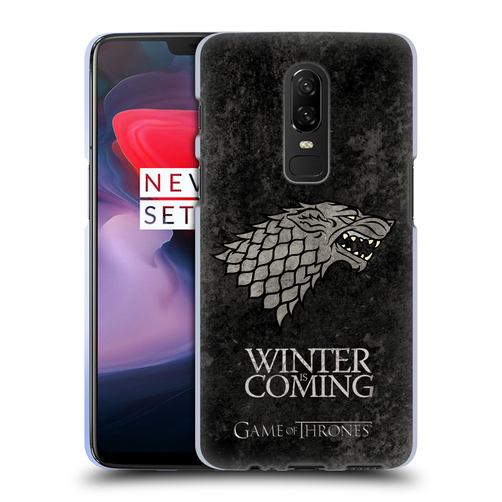 Silikonové pouzdro na mobil OnePlus 6 - Head Case - Hra o trůny - Stark - Winter is coming