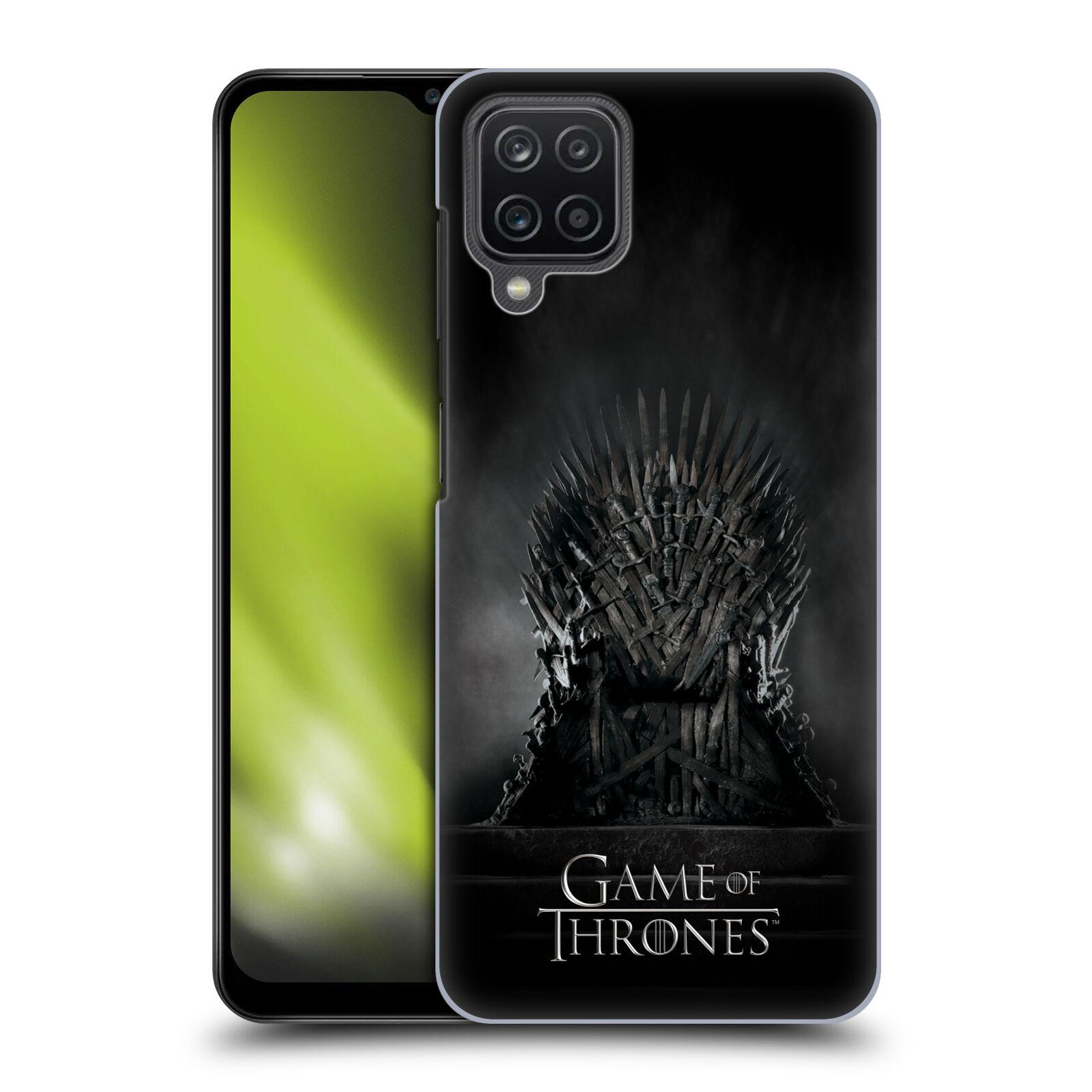 Plastové pouzdro na mobil Samsung Galaxy A12 - Head Case - Hra o trůny – Železný trůn