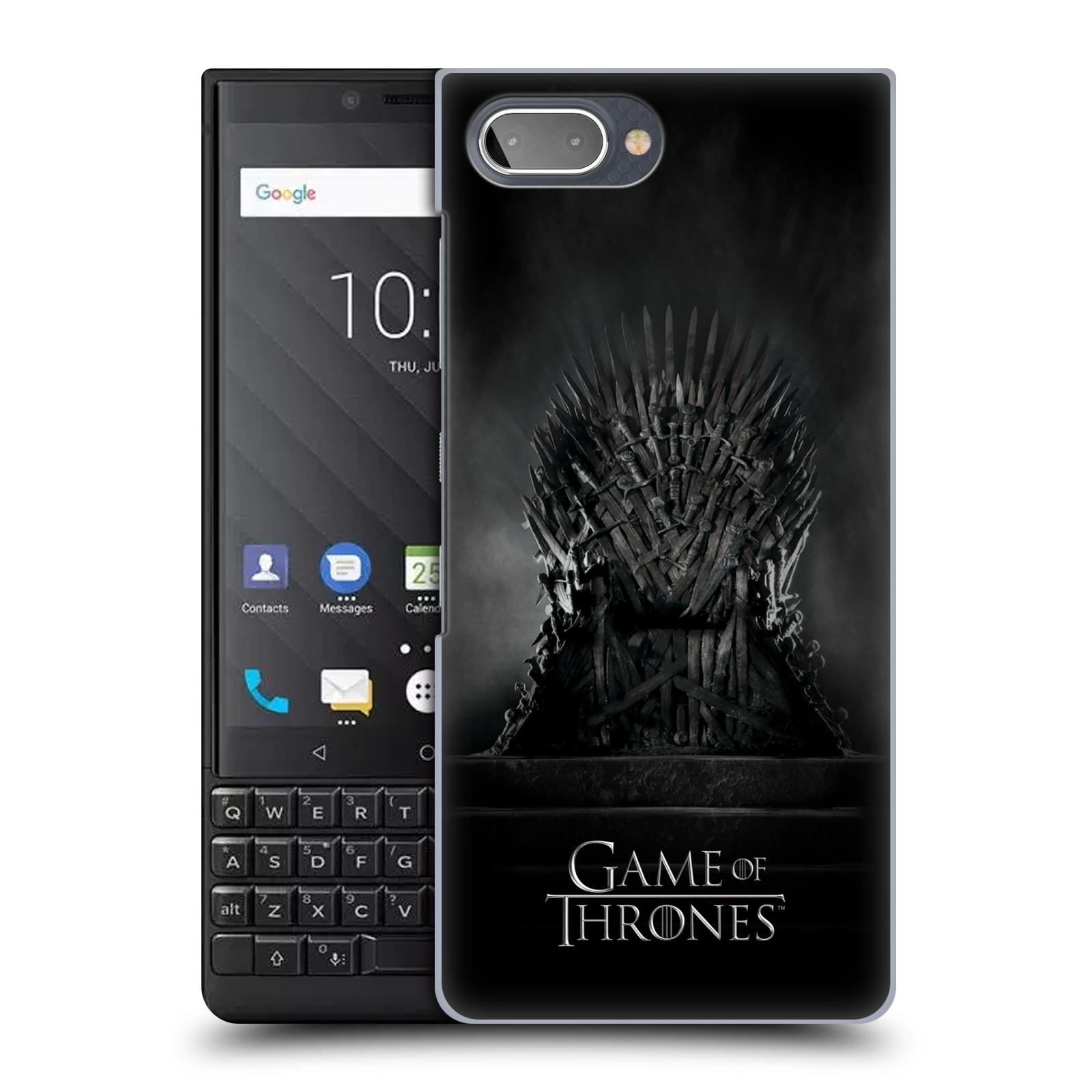 Plastové pouzdro na mobil Blackberry Key 2 - Head Case - Hra o trůny – Železný trůn
