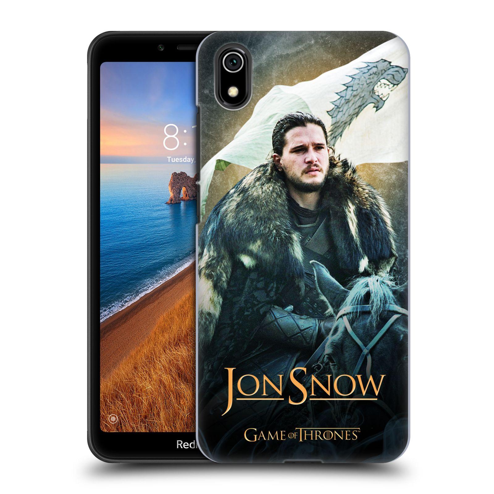 Plastové pouzdro na mobil Xiaomi Redmi 7A - Head Case - Jon Snow na koni