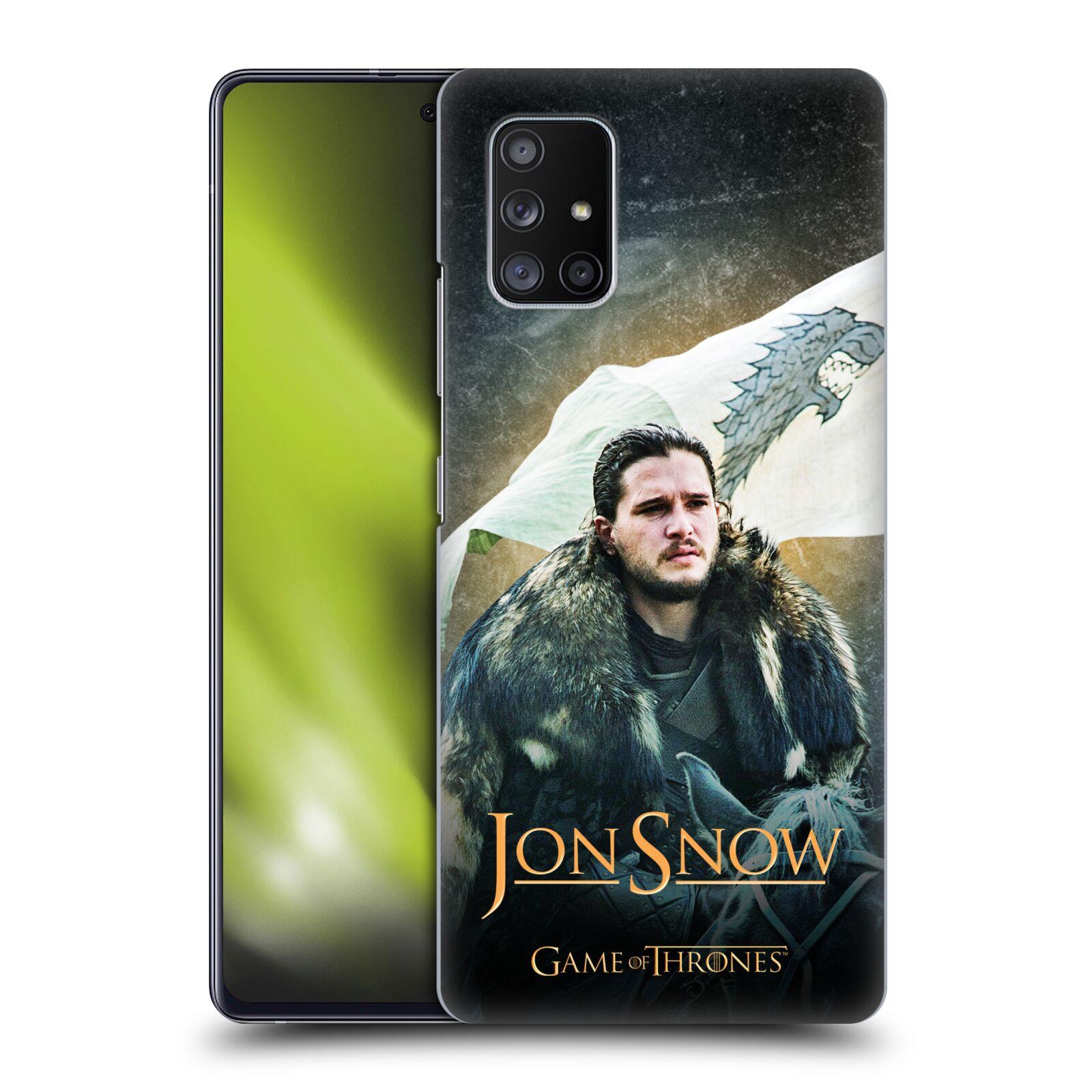 Plastové pouzdro na mobil Samsung Galaxy A51 5G - Head Case - Jon Snow na koni