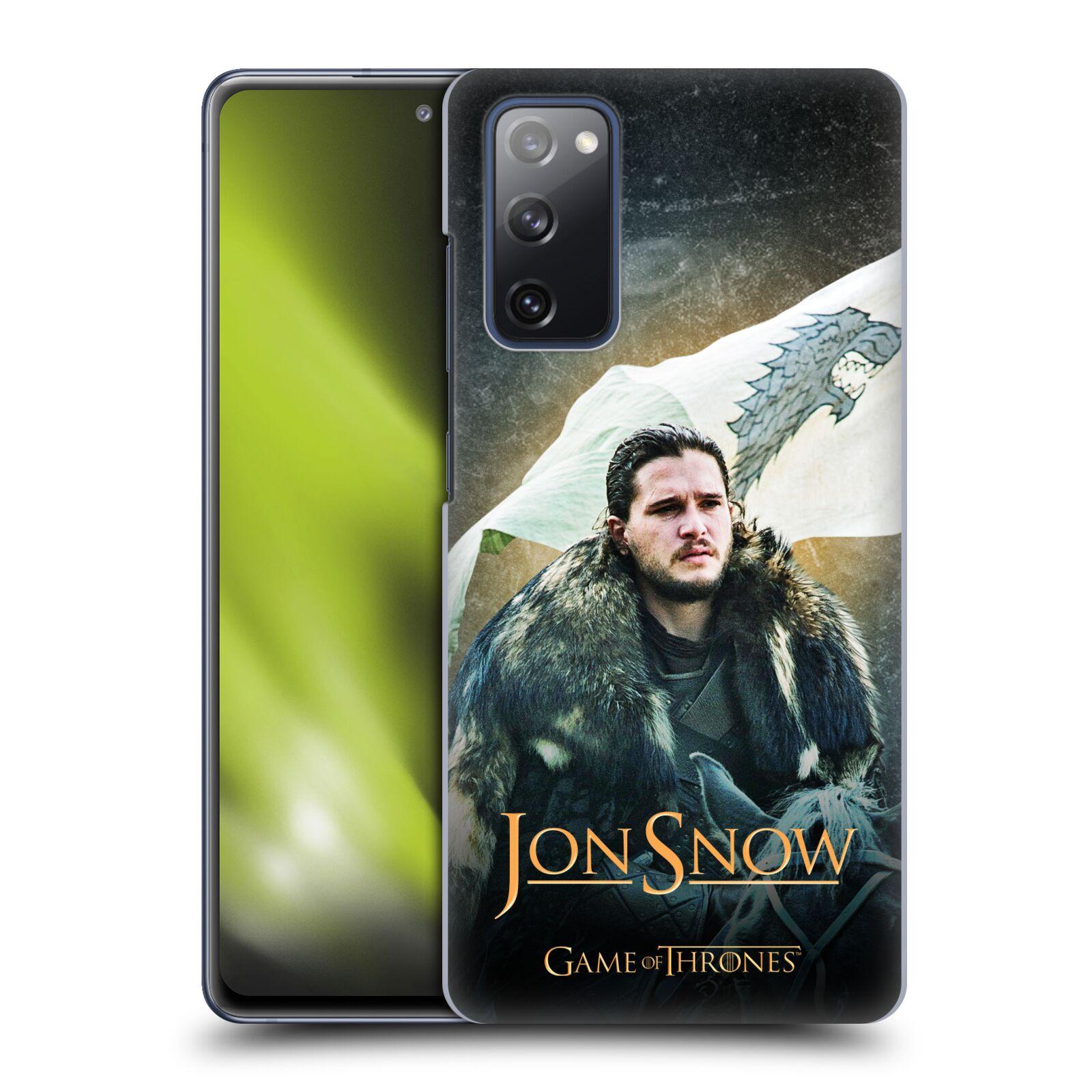 Plastové pouzdro na mobil Samsung Galaxy S20 FE - Head Case - Jon Snow na koni