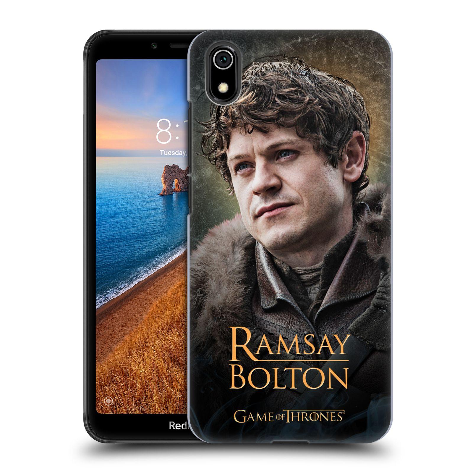 Plastové pouzdro na mobil Xiaomi Redmi 7A - Head Case - Hra o trůny - Ramsay Bolton
