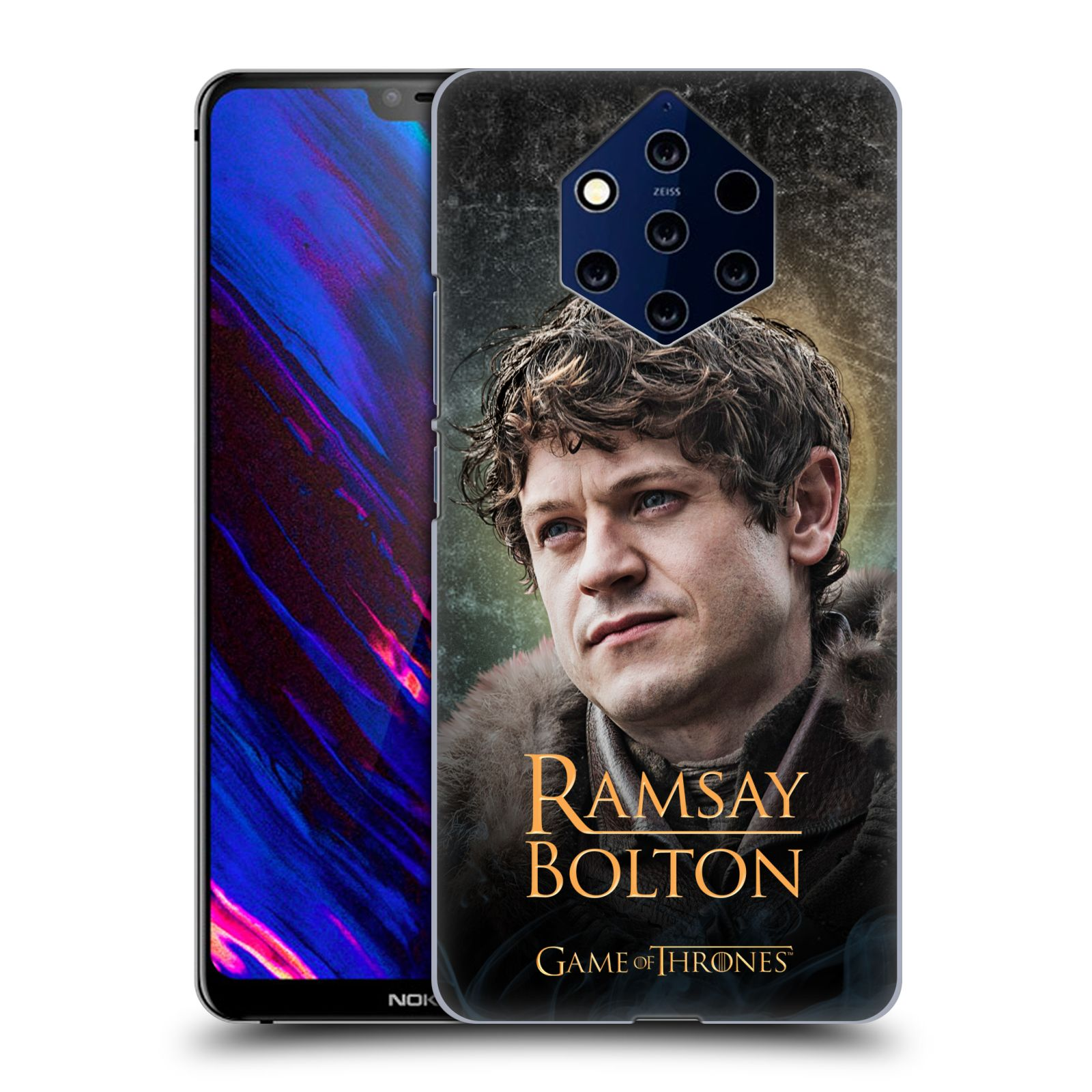 Plastové pouzdro na mobil Nokia 9 PureView - Head Case - Hra o trůny - Ramsay Bolton