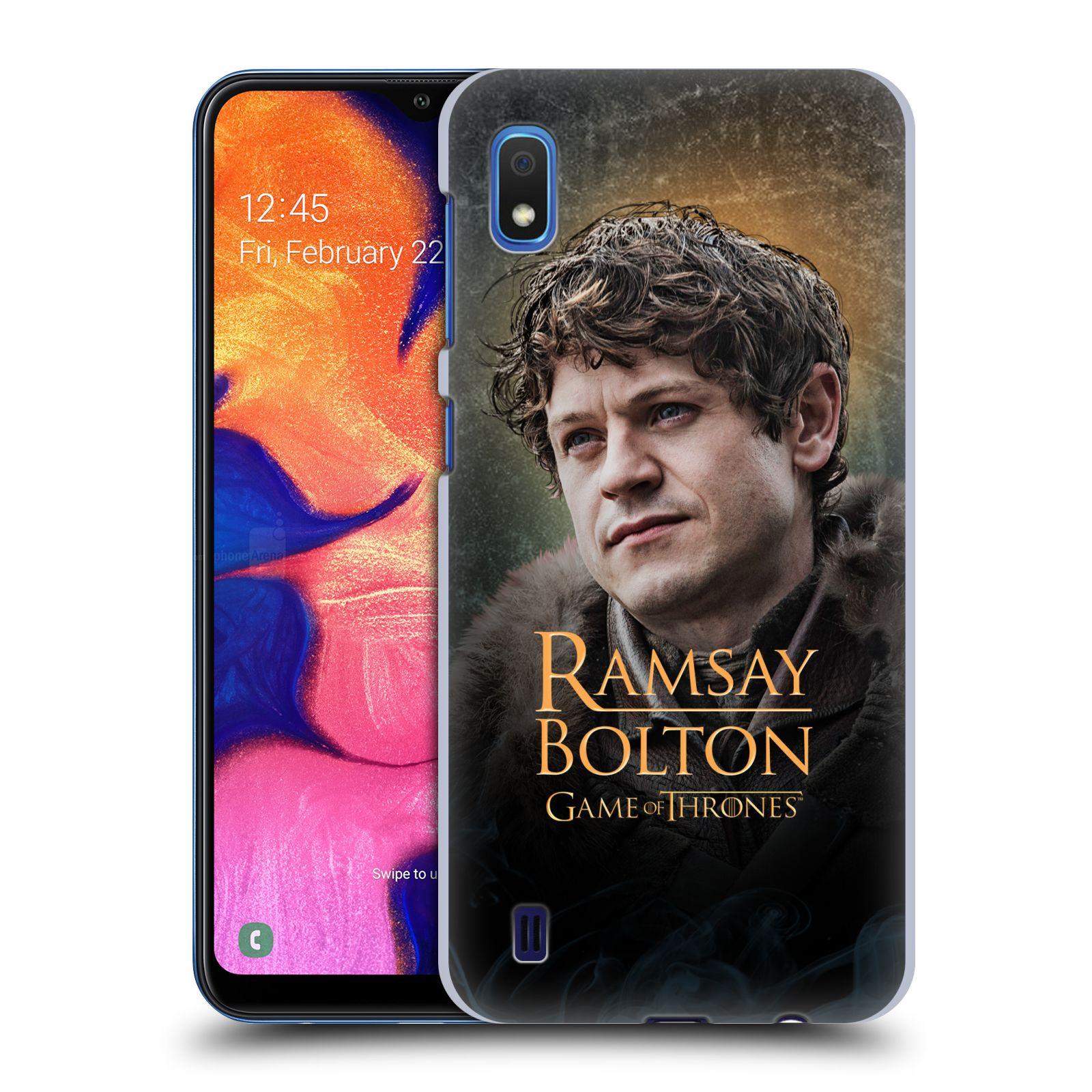 Plastové pouzdro na mobil Samsung Galaxy A10 - Head Case - Hra o trůny - Ramsay Bolton