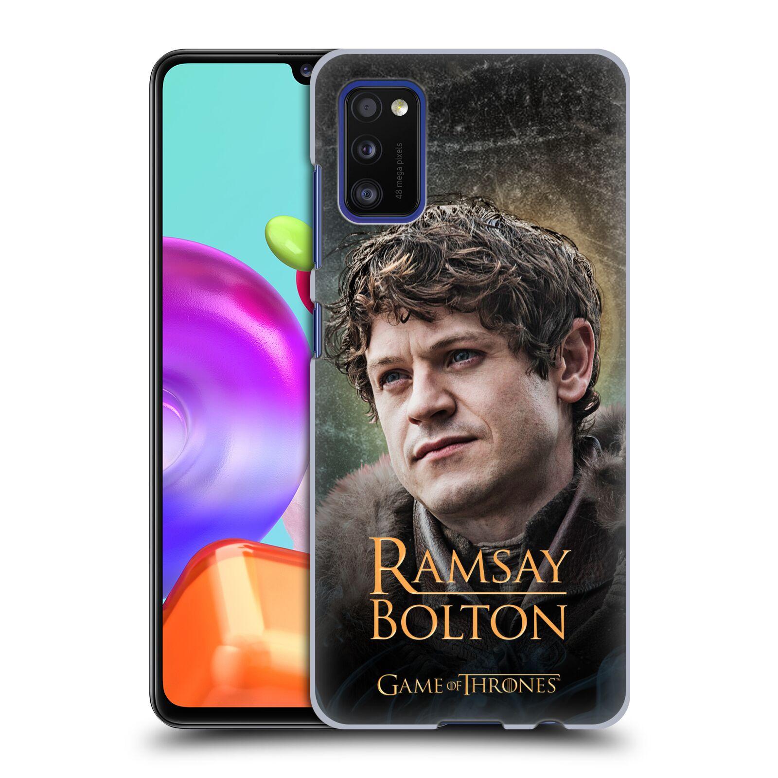 Plastové pouzdro na mobil Samsung Galaxy A41 - Head Case - Hra o trůny - Ramsay Bolton
