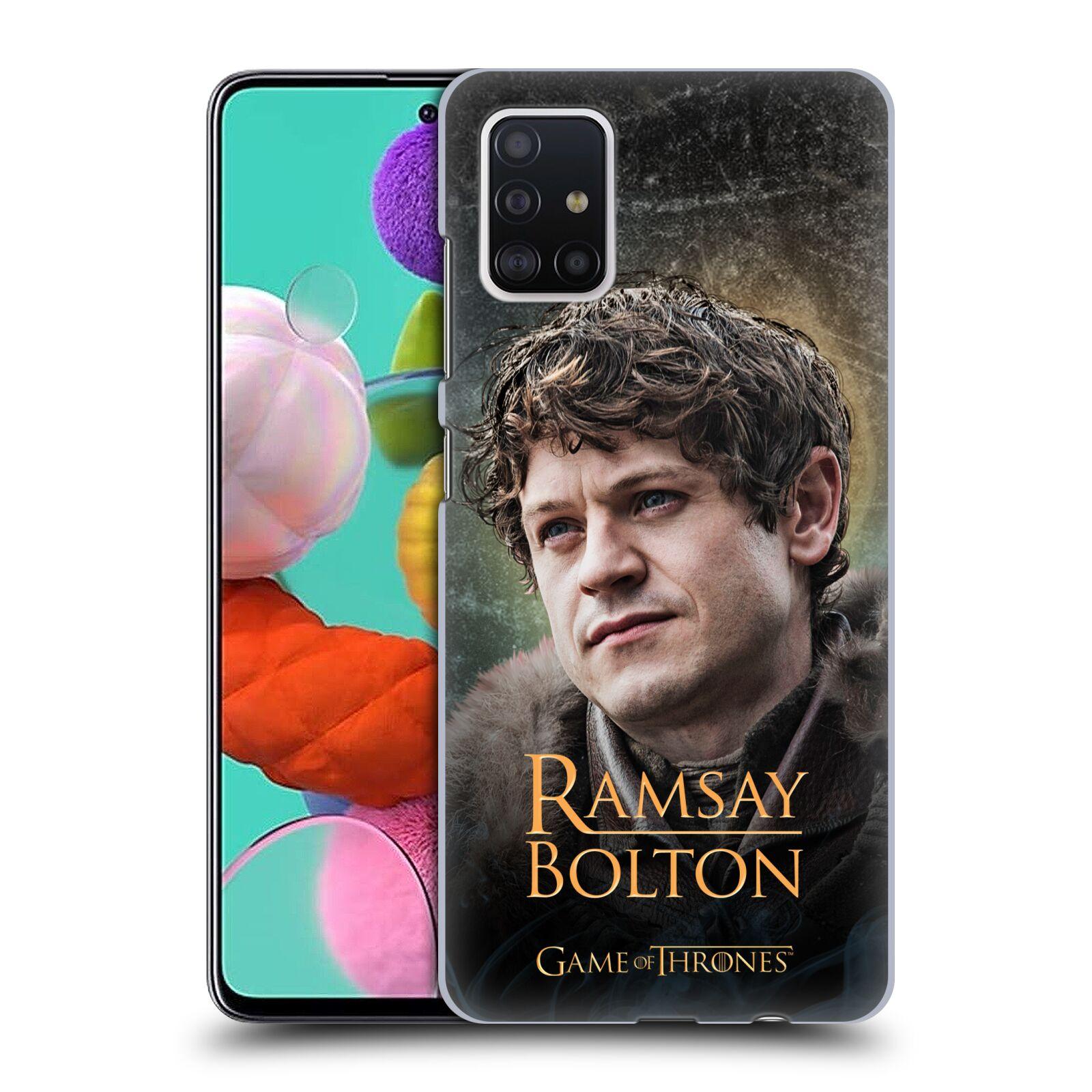 Plastové pouzdro na mobil Samsung Galaxy A51 - Head Case - Hra o trůny - Ramsay Bolton