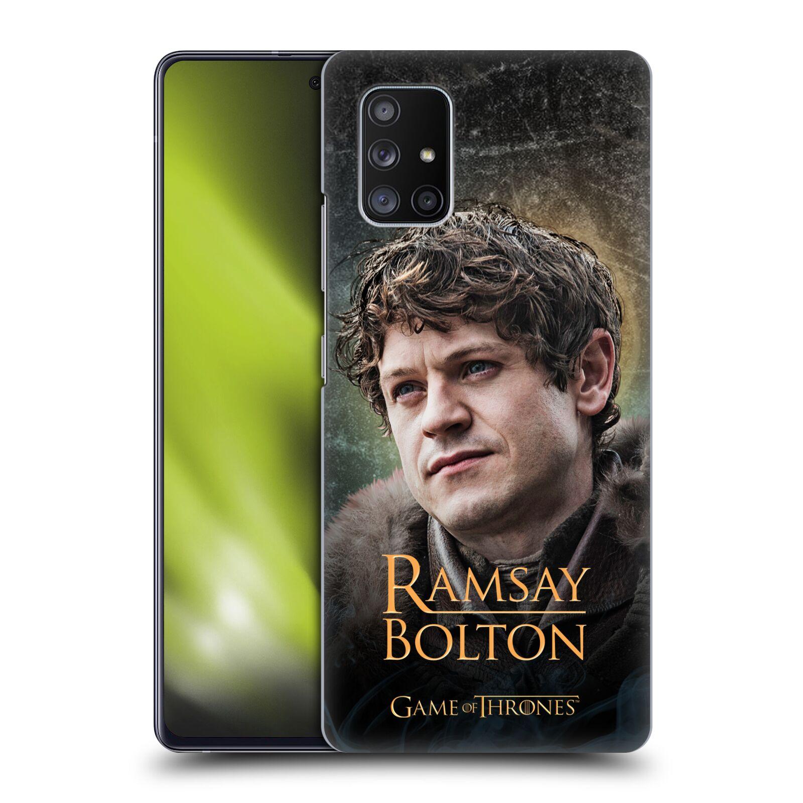 Plastové pouzdro na mobil Samsung Galaxy A51 5G - Head Case - Hra o trůny - Ramsay Bolton