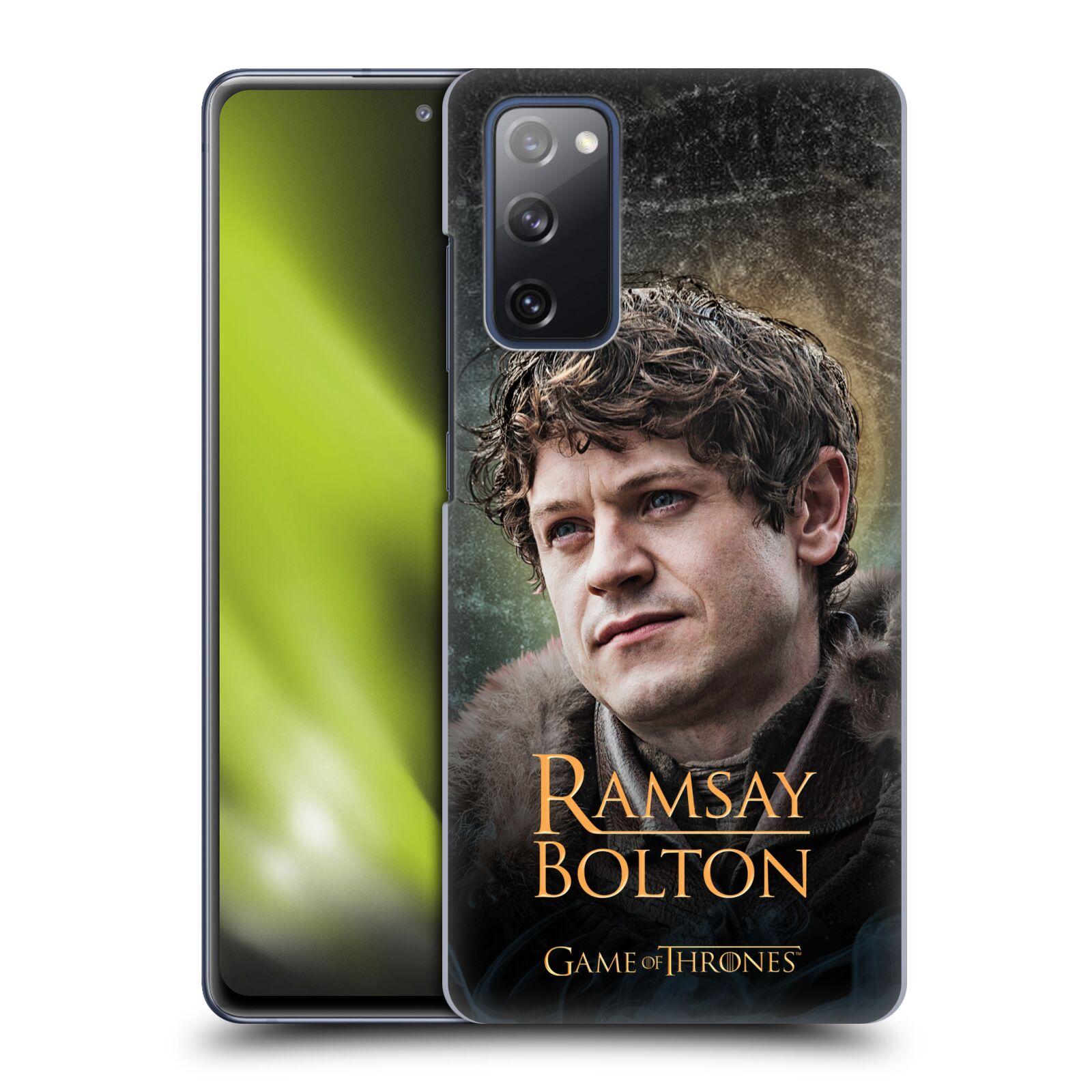 Plastové pouzdro na mobil Samsung Galaxy S20 FE - Head Case - Hra o trůny - Ramsay Bolton