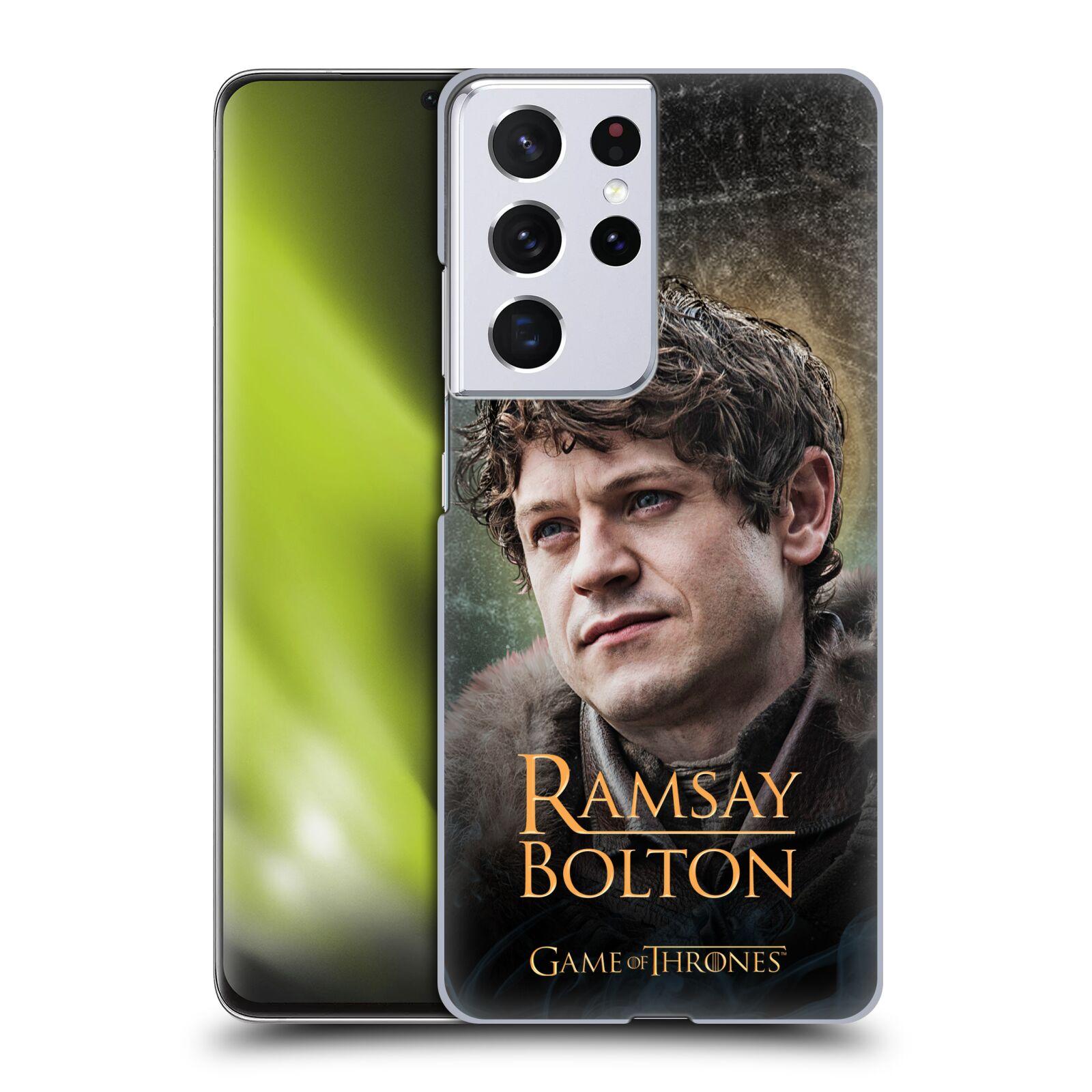 Plastové pouzdro na mobil Samsung Galaxy S21 Ultra 5G - Head Case - Hra o trůny - Ramsay Bolton