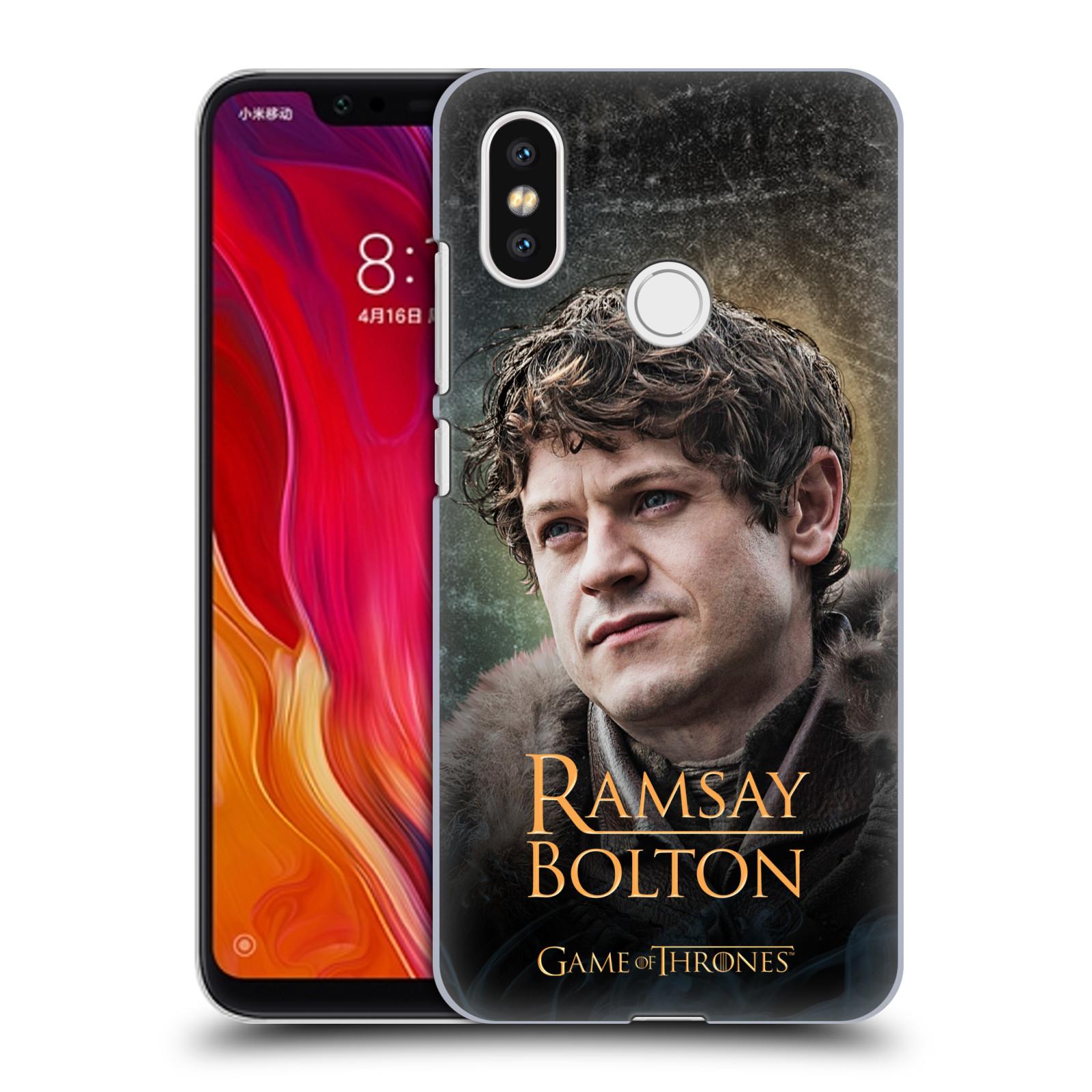 Plastové pouzdro na mobil Xiaomi Mi8 - Head Case - Hra o trůny - Ramsay Bolton