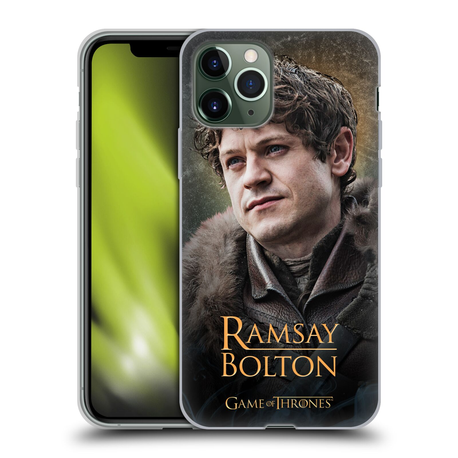 gucci iphone 7 case india , Silikonové pouzdro na mobil Apple iPhone 11 Pro - Head Case - Hra o trůny - Ramsay Bolton