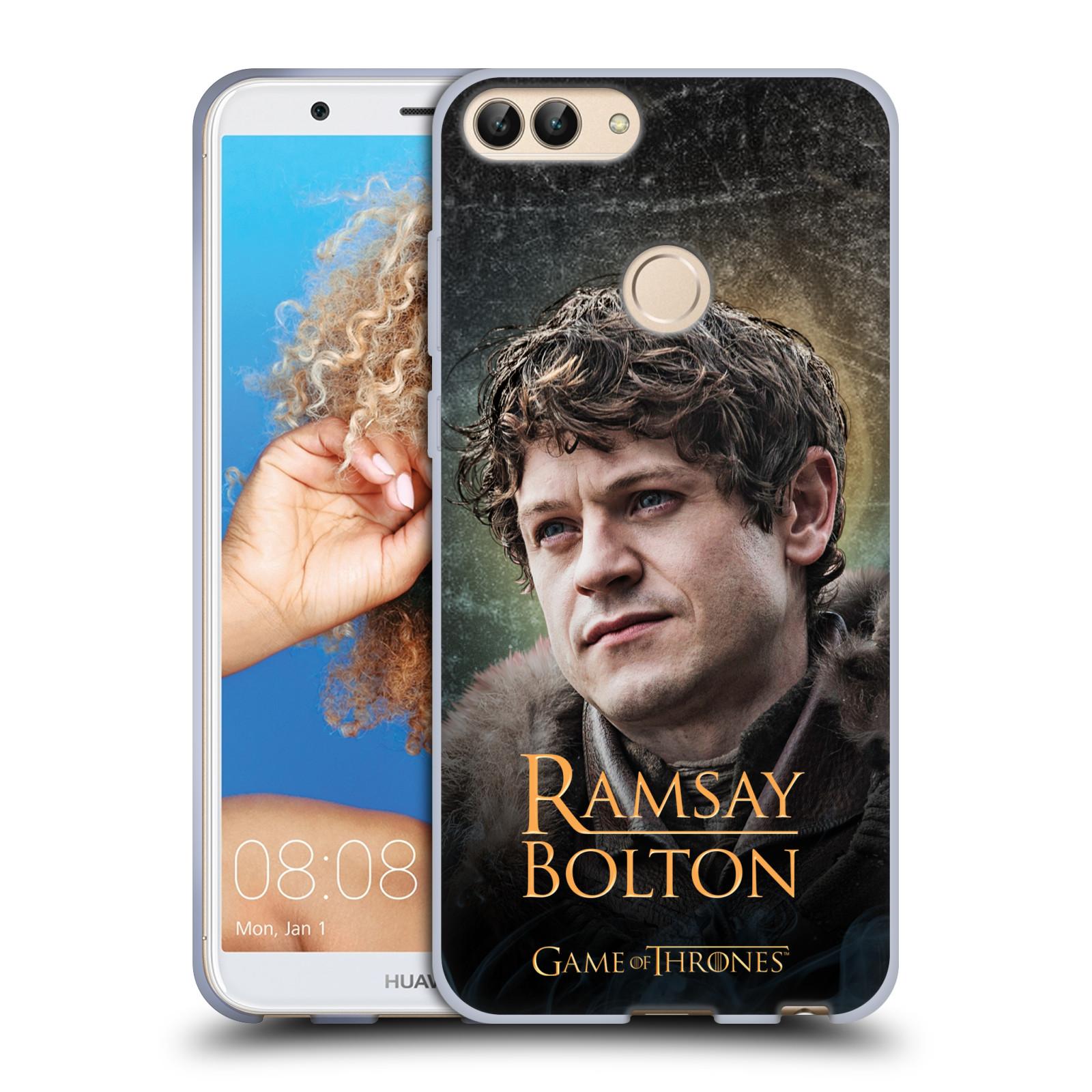 Silikonové pouzdro na mobil Huawei P Smart - Head Case - Hra o trůny - Ramsay Bolton