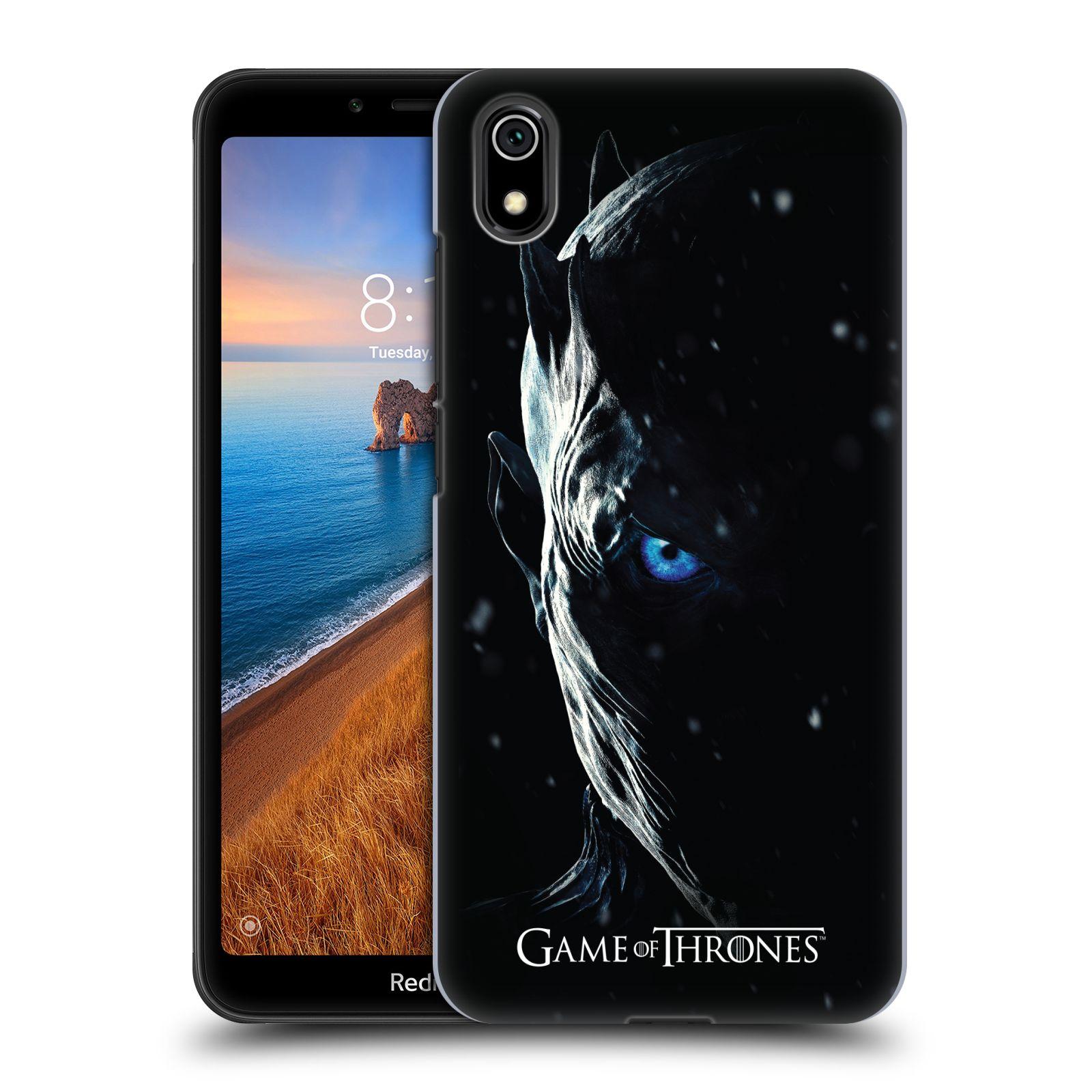 Plastové pouzdro na mobil Xiaomi Redmi 7A - Head Case - Hra o trůny - Night King