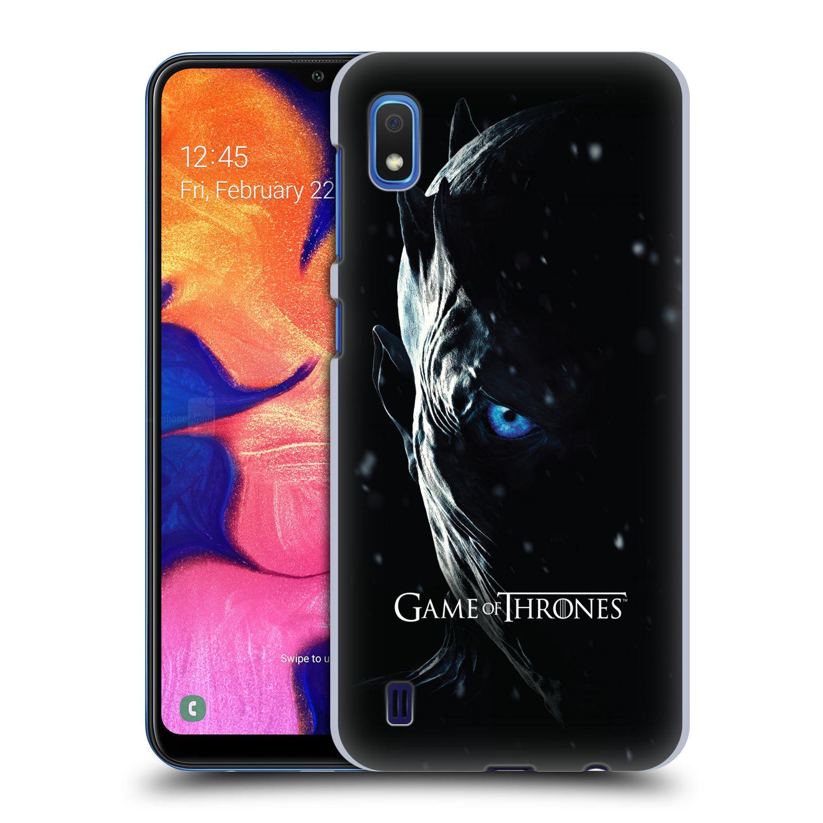 Plastové pouzdro na mobil Samsung Galaxy A10 - Head Case - Hra o trůny - Night King
