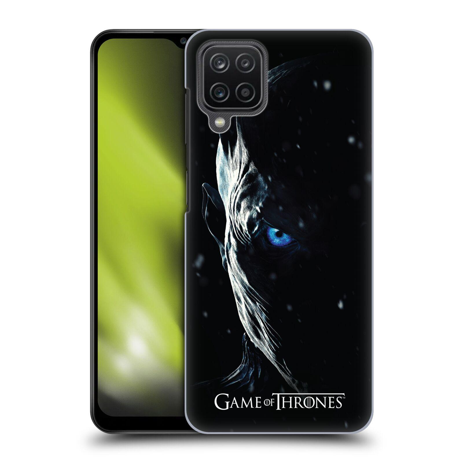 Plastové pouzdro na mobil Samsung Galaxy A12 - Head Case - Hra o trůny - Night King