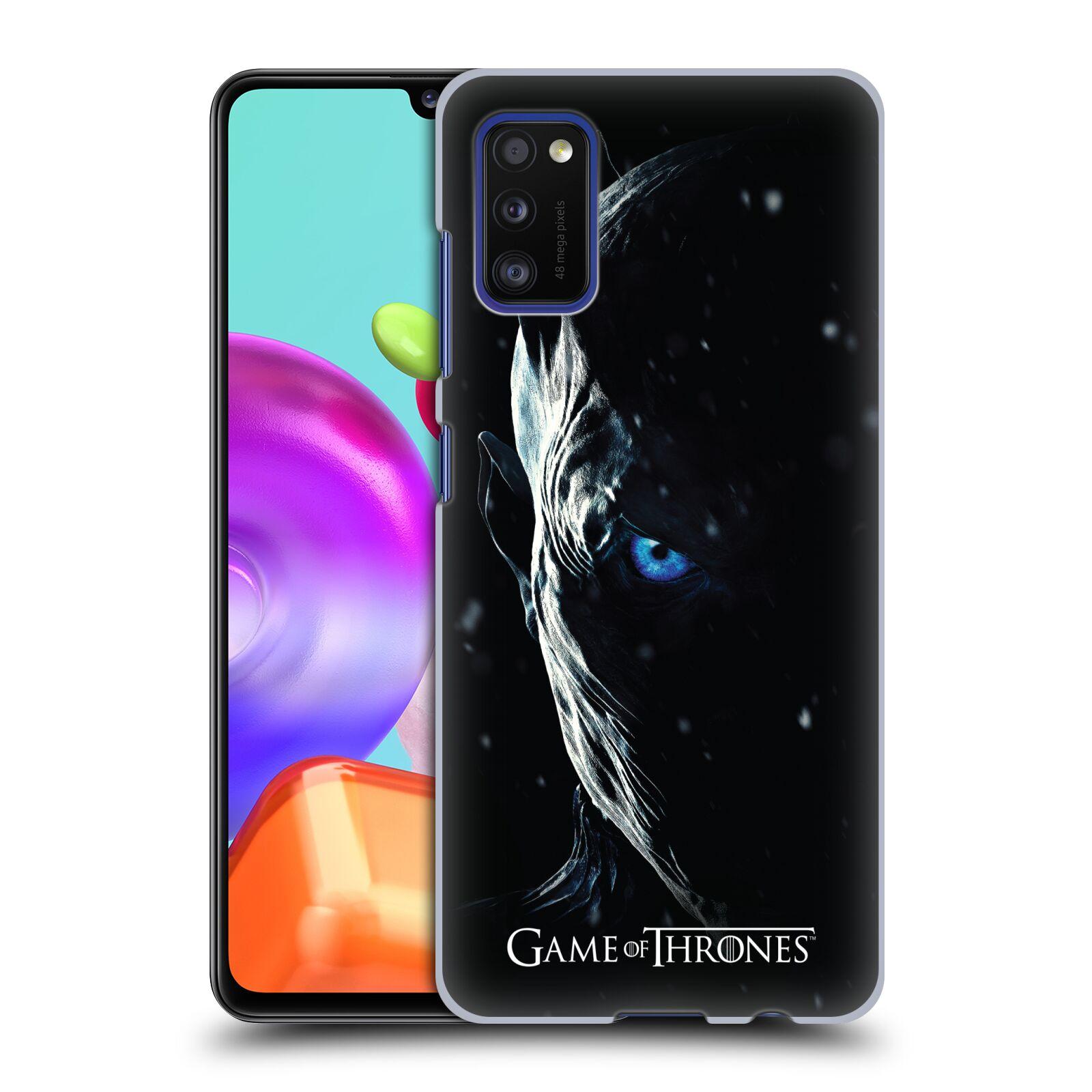 Plastové pouzdro na mobil Samsung Galaxy A41 - Head Case - Hra o trůny - Night King