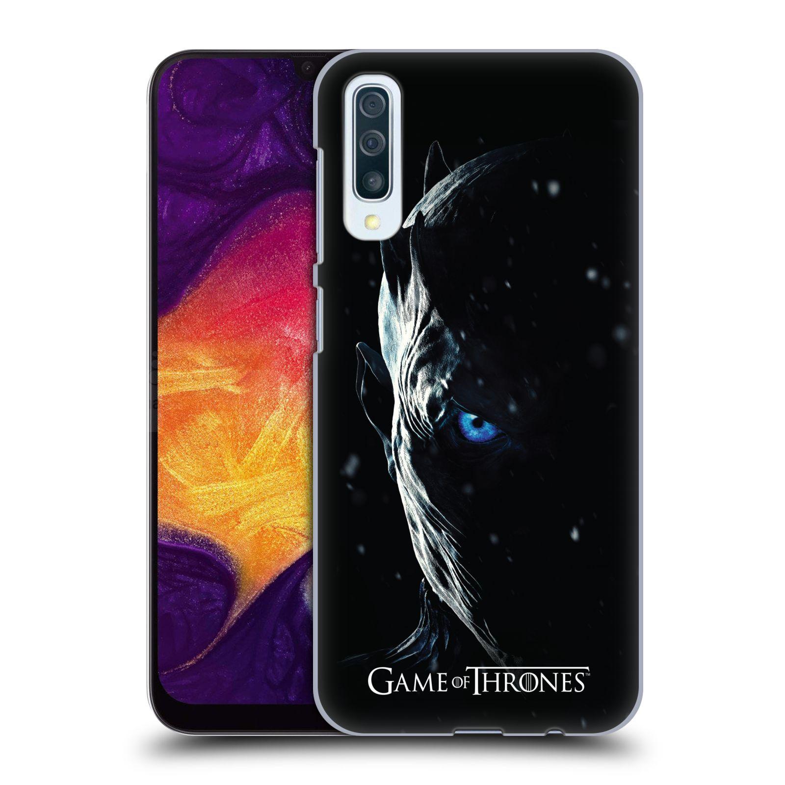 Plastové pouzdro na mobil Samsung Galaxy A50 / A30s - Head Case - Hra o trůny - Night King