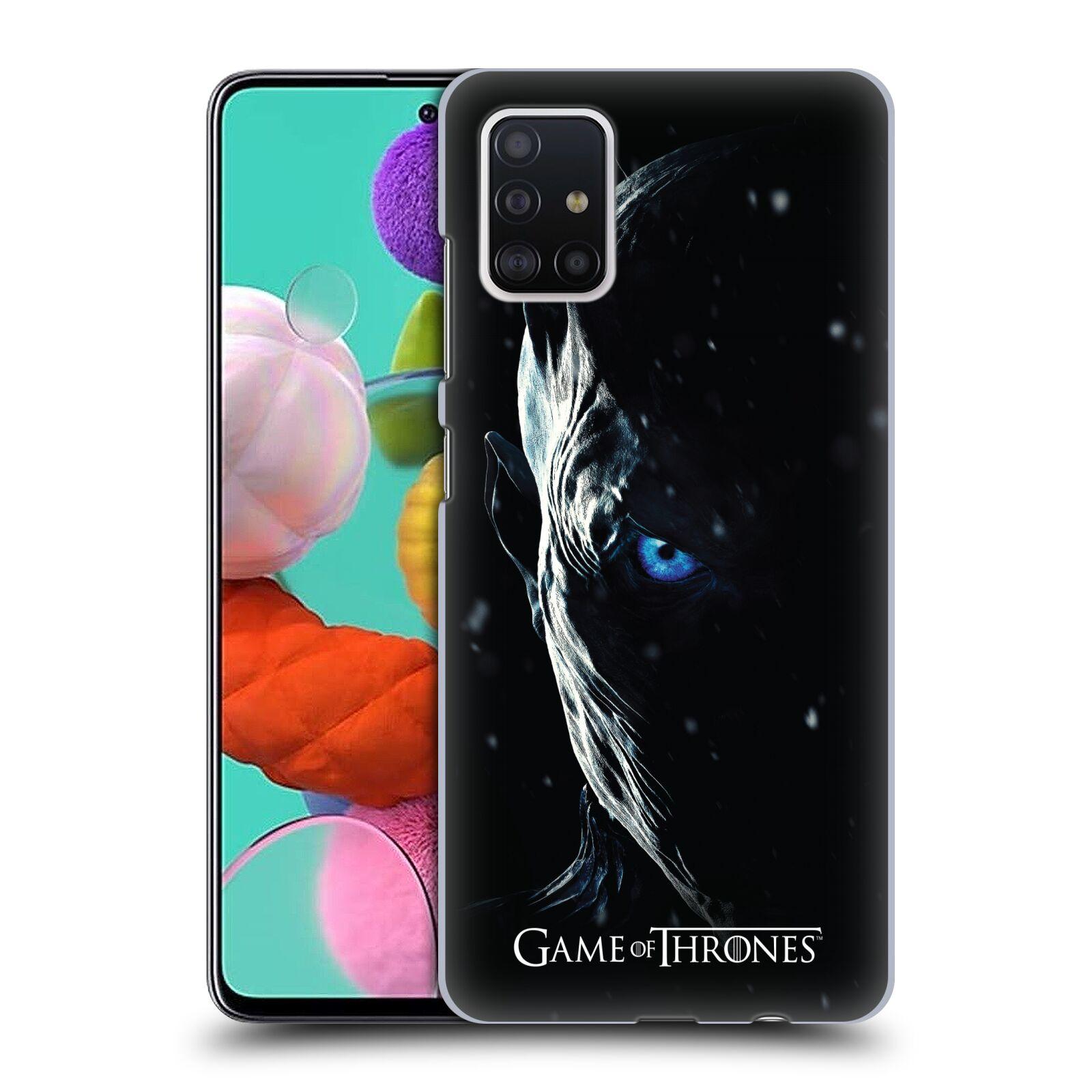 Plastové pouzdro na mobil Samsung Galaxy A51 - Head Case - Hra o trůny - Night King