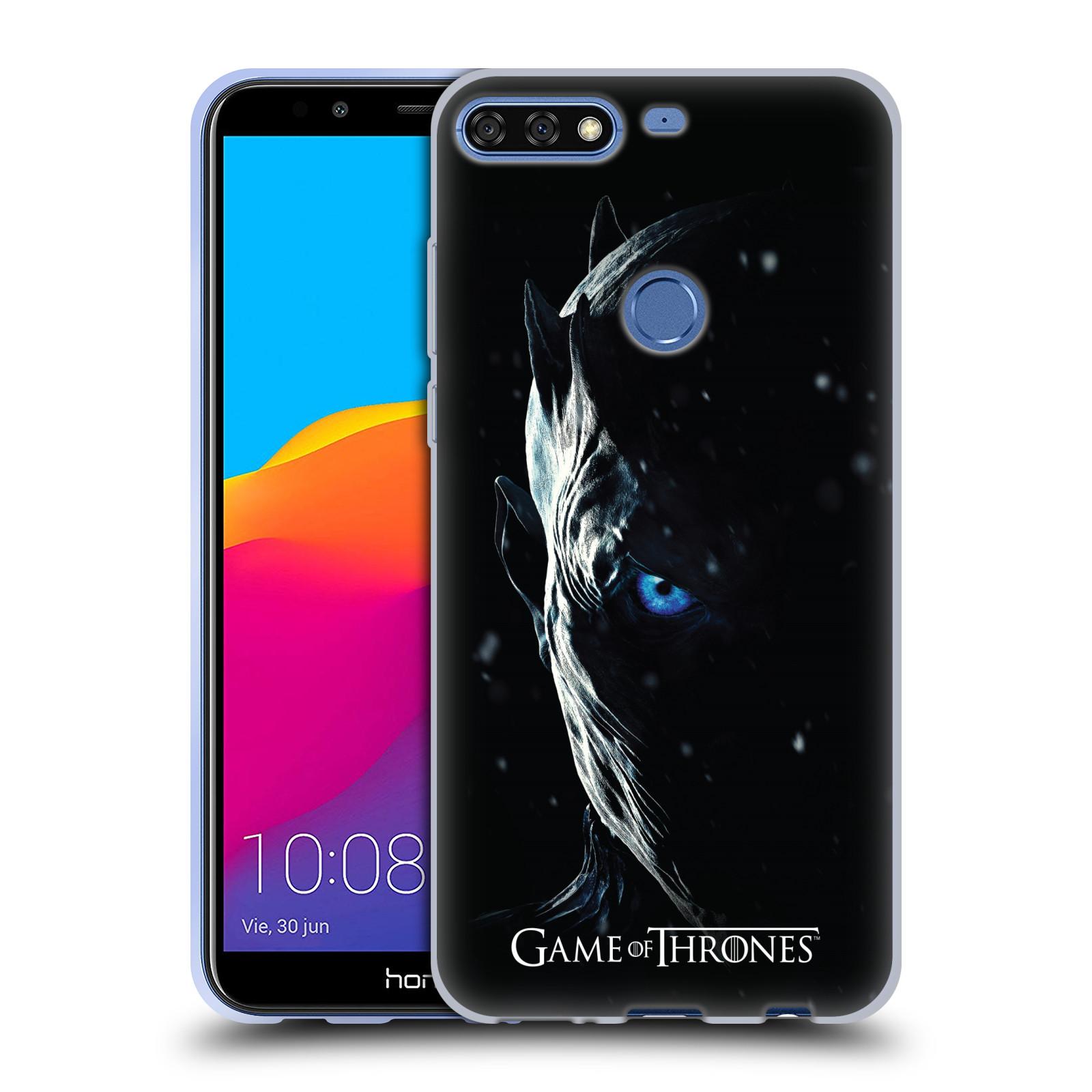 Silikonové pouzdro na mobil Honor 7C - Head Case - Hra o trůny - Night King b89d1b5e089