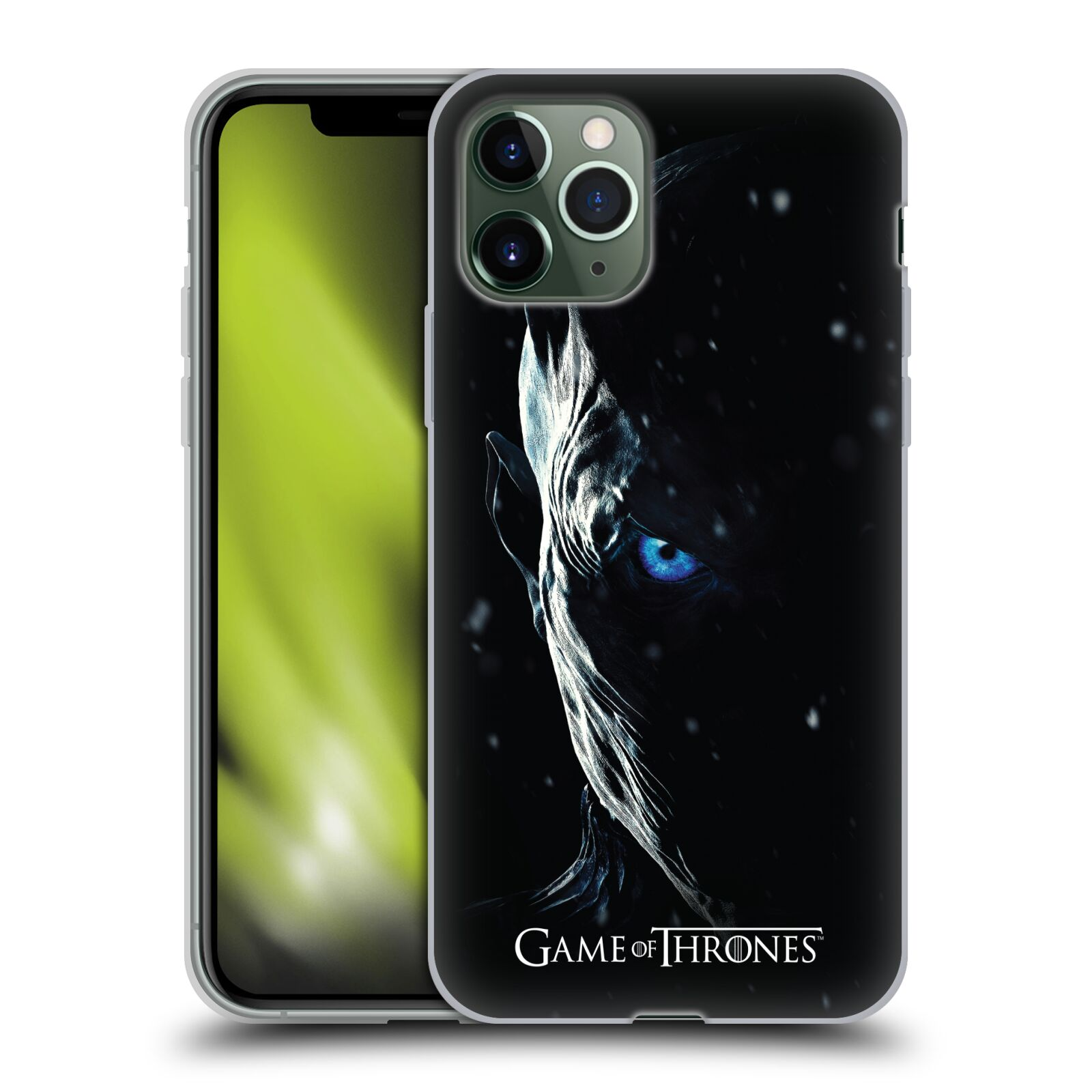 kryt na iphone 8 guess | Silikonové pouzdro na mobil Apple iPhone 11 Pro - Head Case - Hra o trůny - Night King