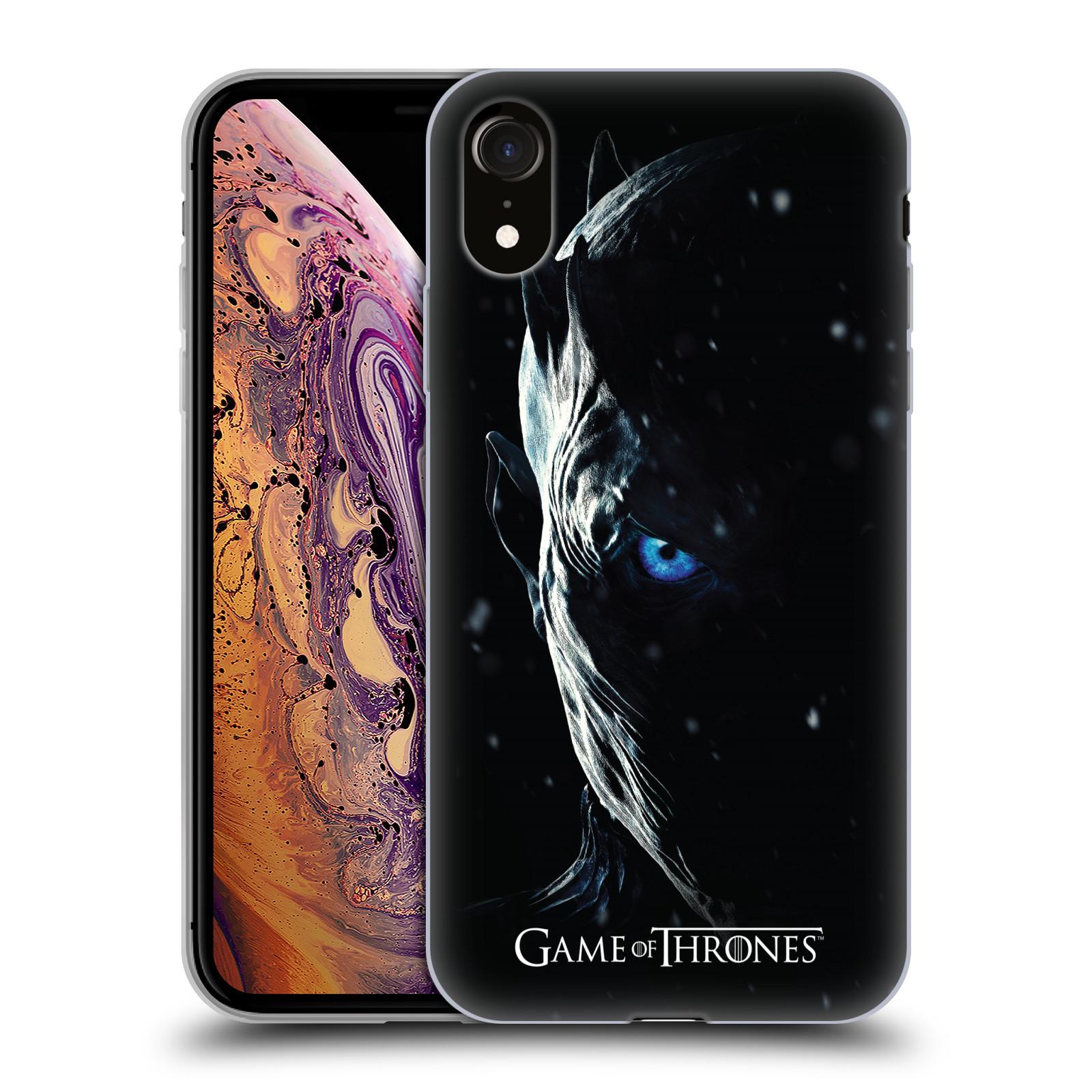 Silikonové pouzdro na mobil Apple iPhone XR - Head Case - Hra o trůny - Night King
