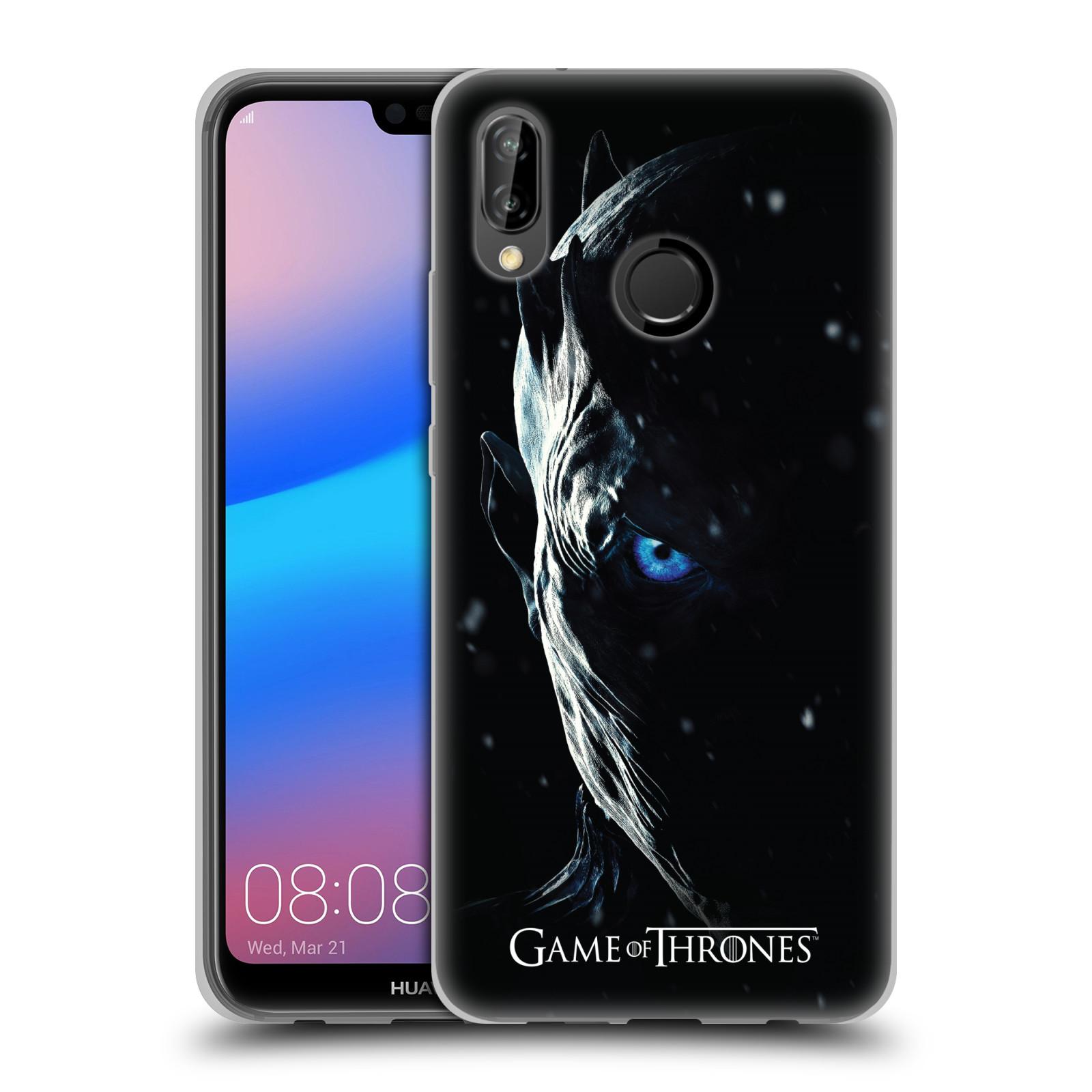 Silikonové pouzdro na mobil Huawei P20 Lite - Head Case - Hra o trůny - Night King