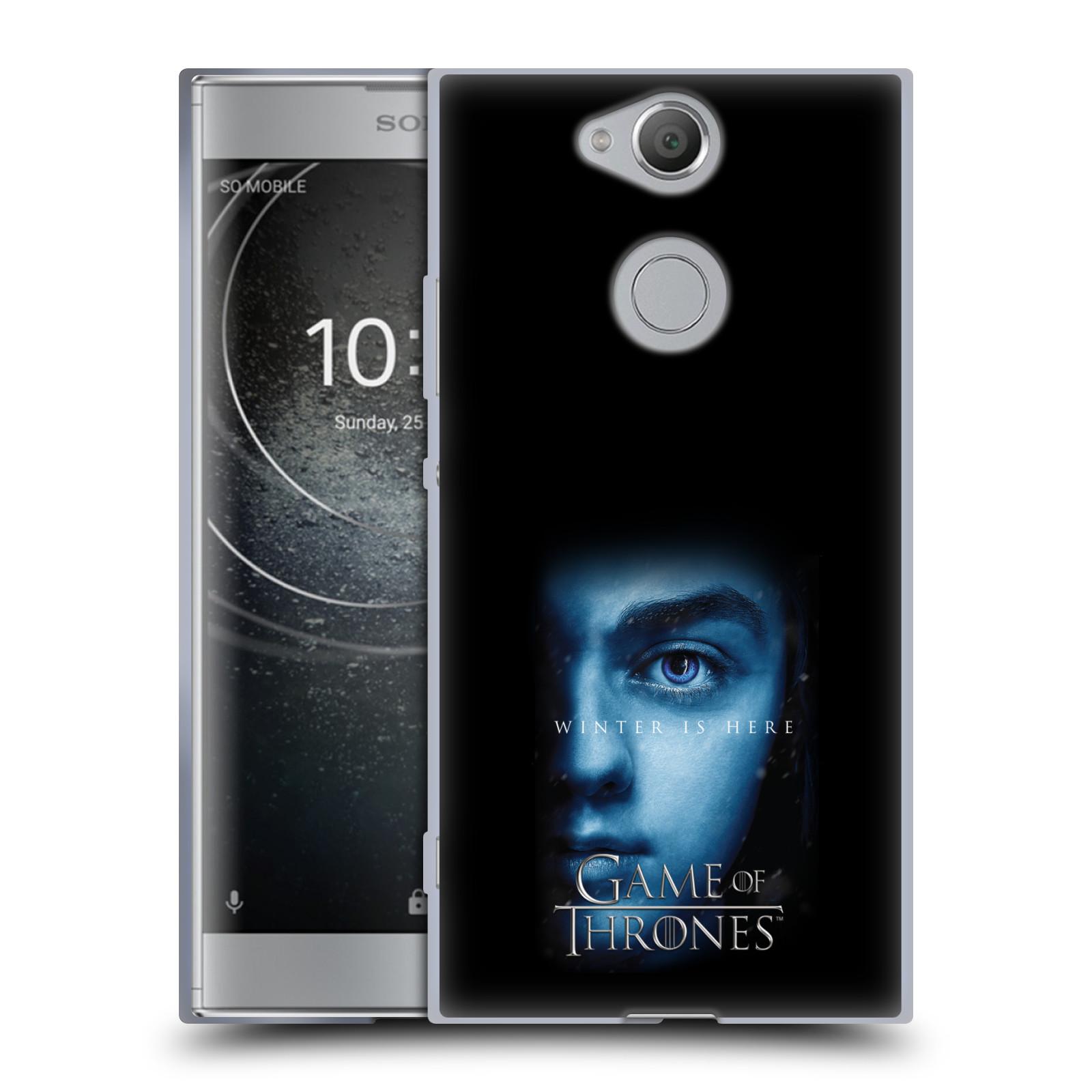 Silikonové pouzdro na mobil Sony Xperia XA2 - Head Case - Hra o trůny - Arya Stark - Winter is here