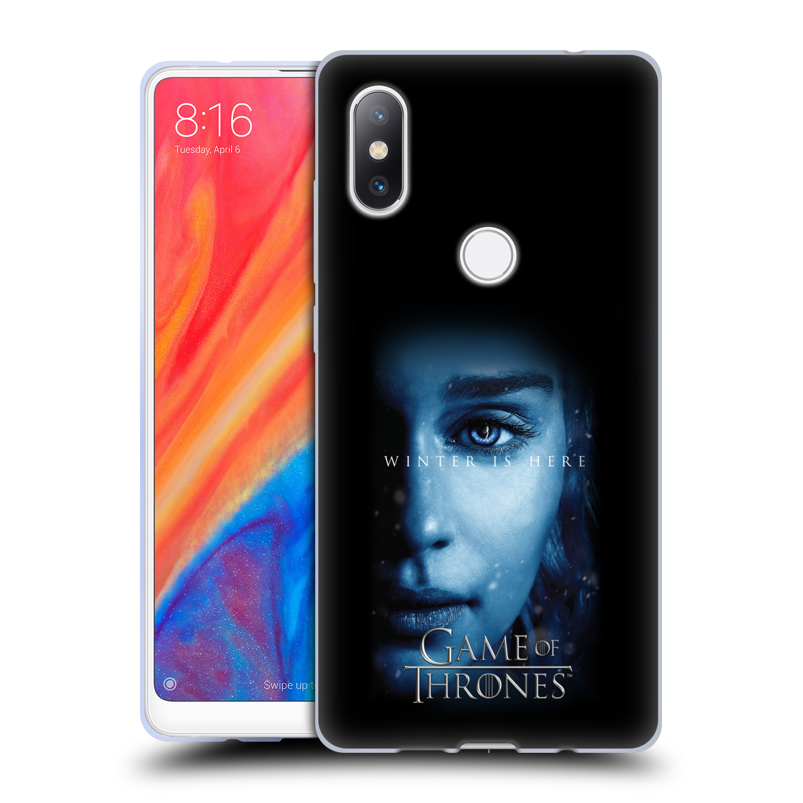Silikonové pouzdro na mobil Xiaomi Mi Mix 2S - Head Case - Hra o trůny - Daenerys Targaryen - Winter is here