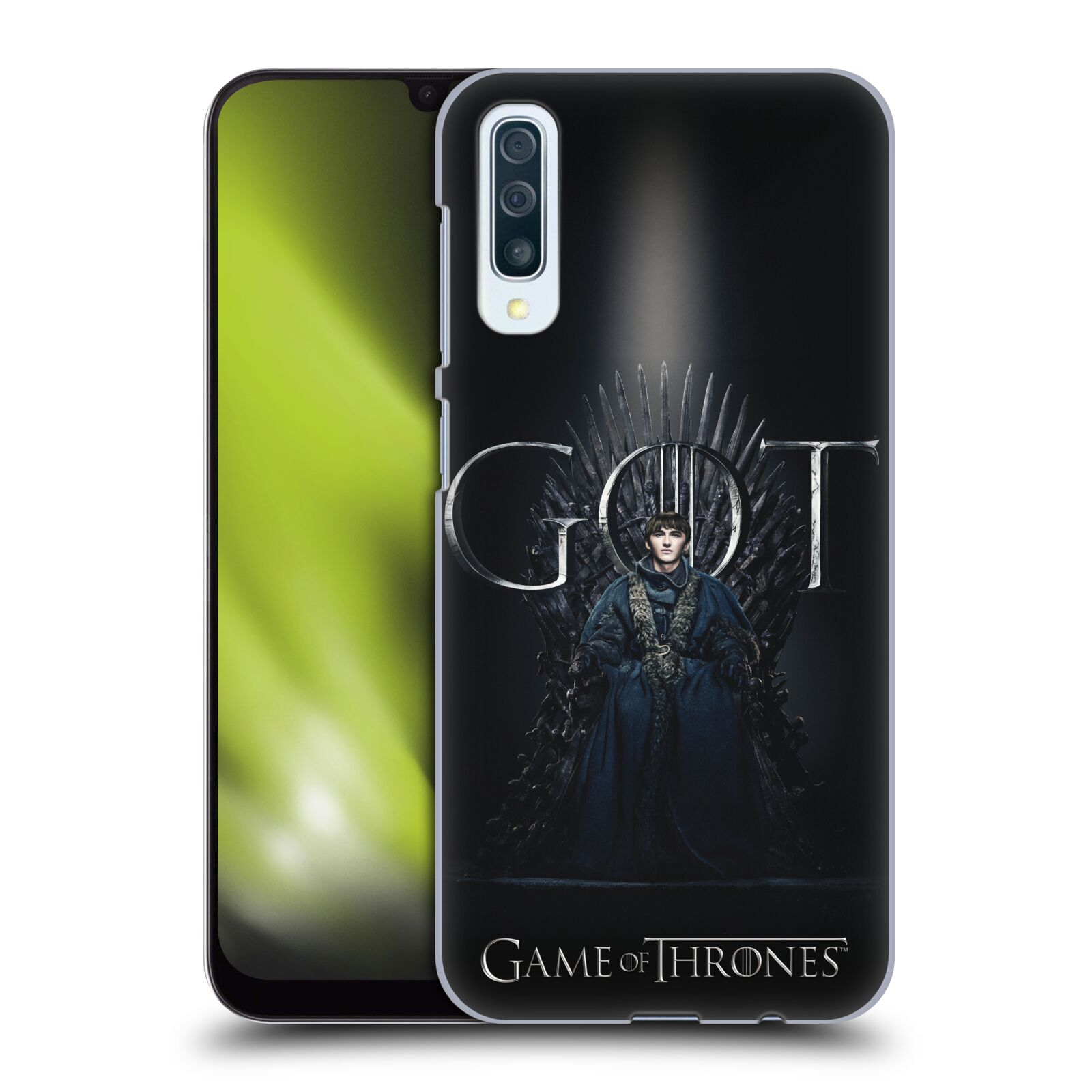 Plastové pouzdro na mobil Samsung Galaxy A50 / A30s - Head Case - Hra o trůny - Bran Stark