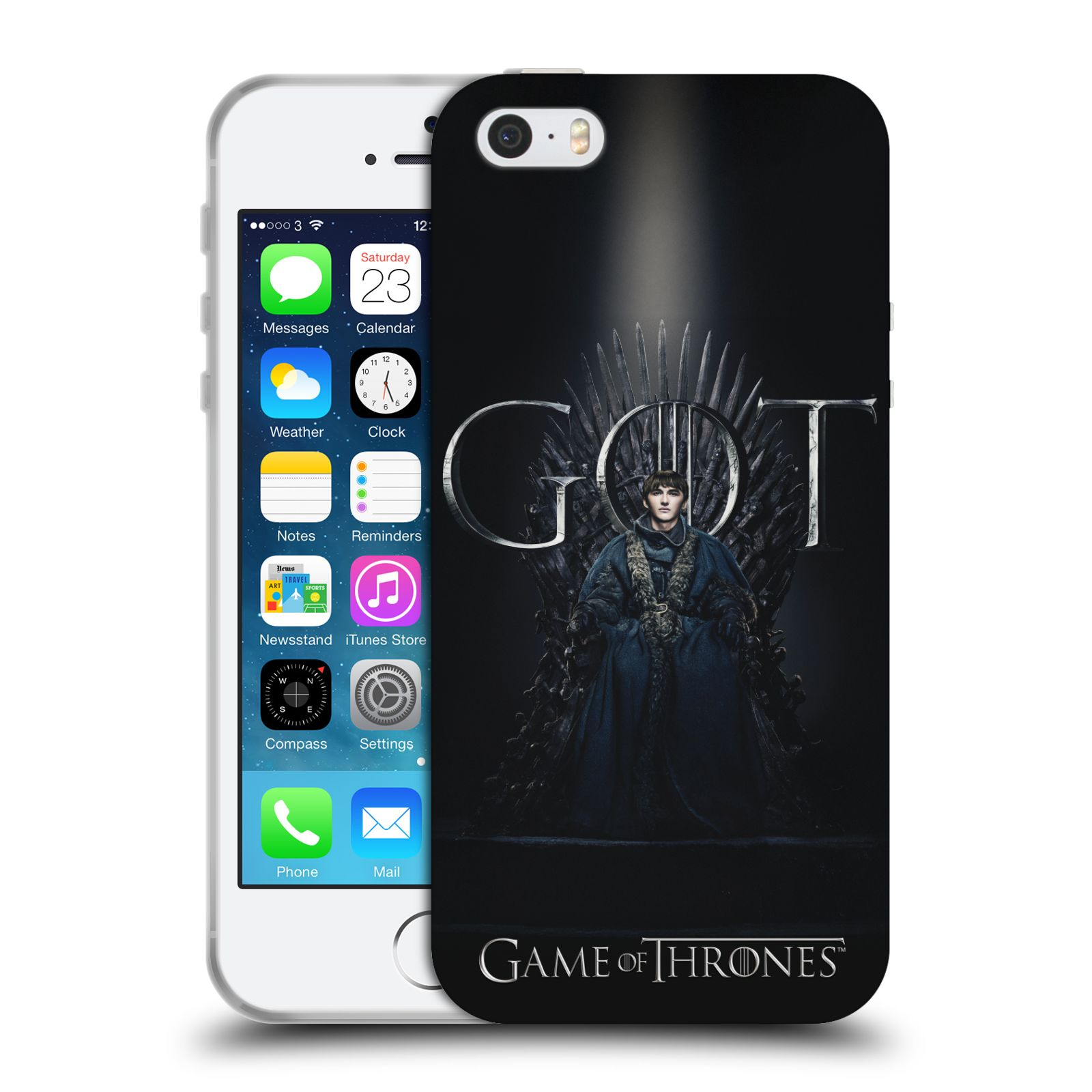 Silikonové pouzdro na mobil Apple iPhone 5, 5S, SE - Head Case - Hra o trůny - Bran Stark