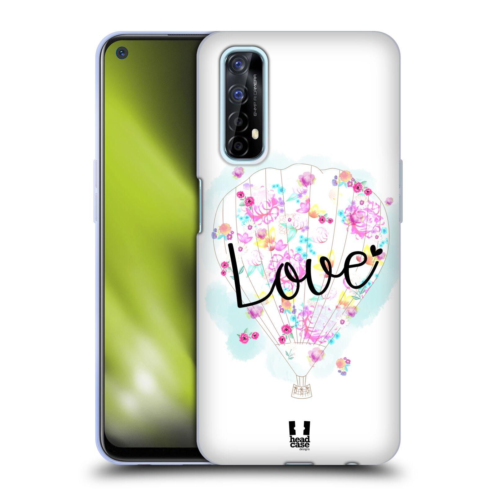 Silikonové pouzdro na mobil Realme 7 - Head Case - Balón Love