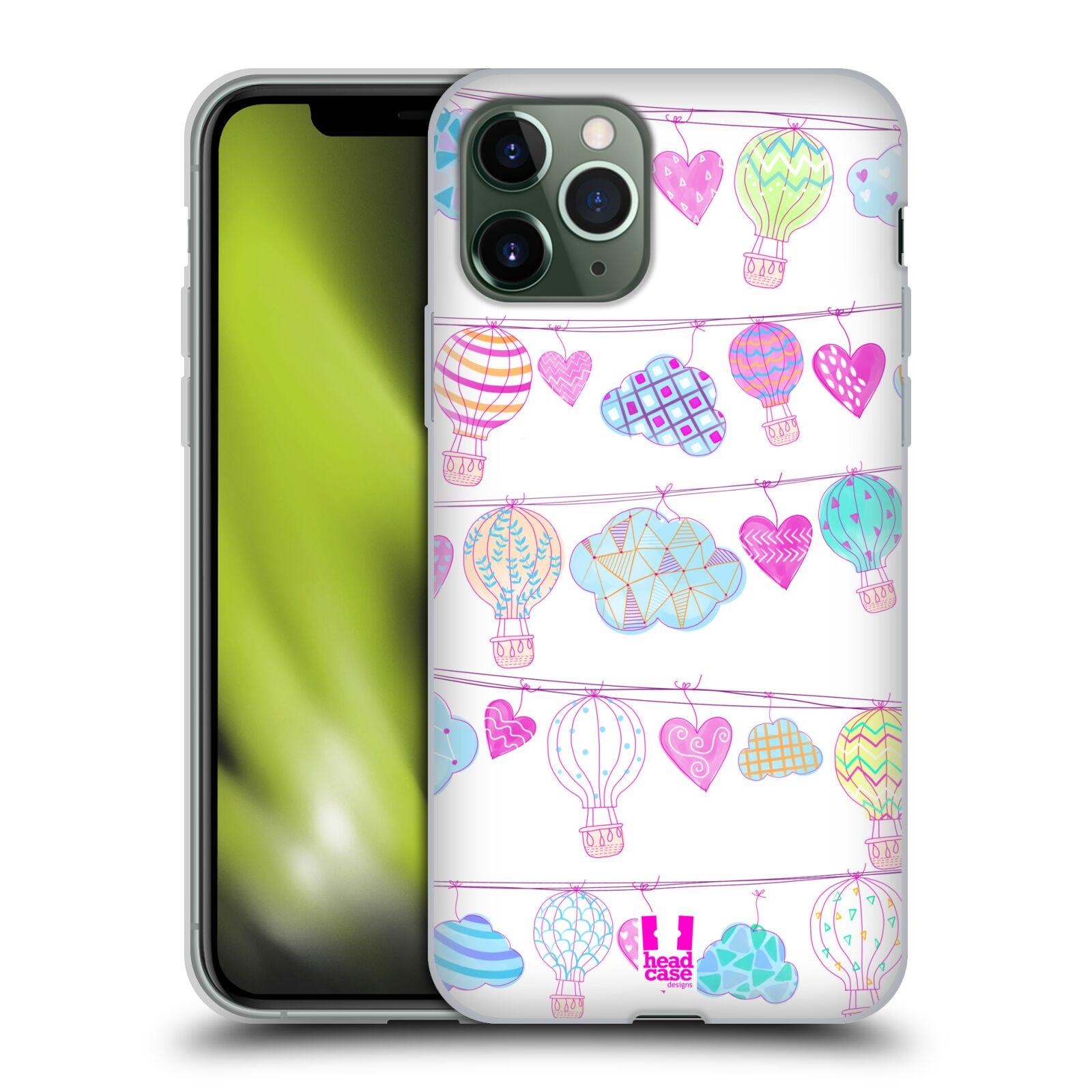 iphone 8 kryt swarovski | Silikonové pouzdro na mobil Apple iPhone 11 Pro - Head Case - Balóny a srdíčka