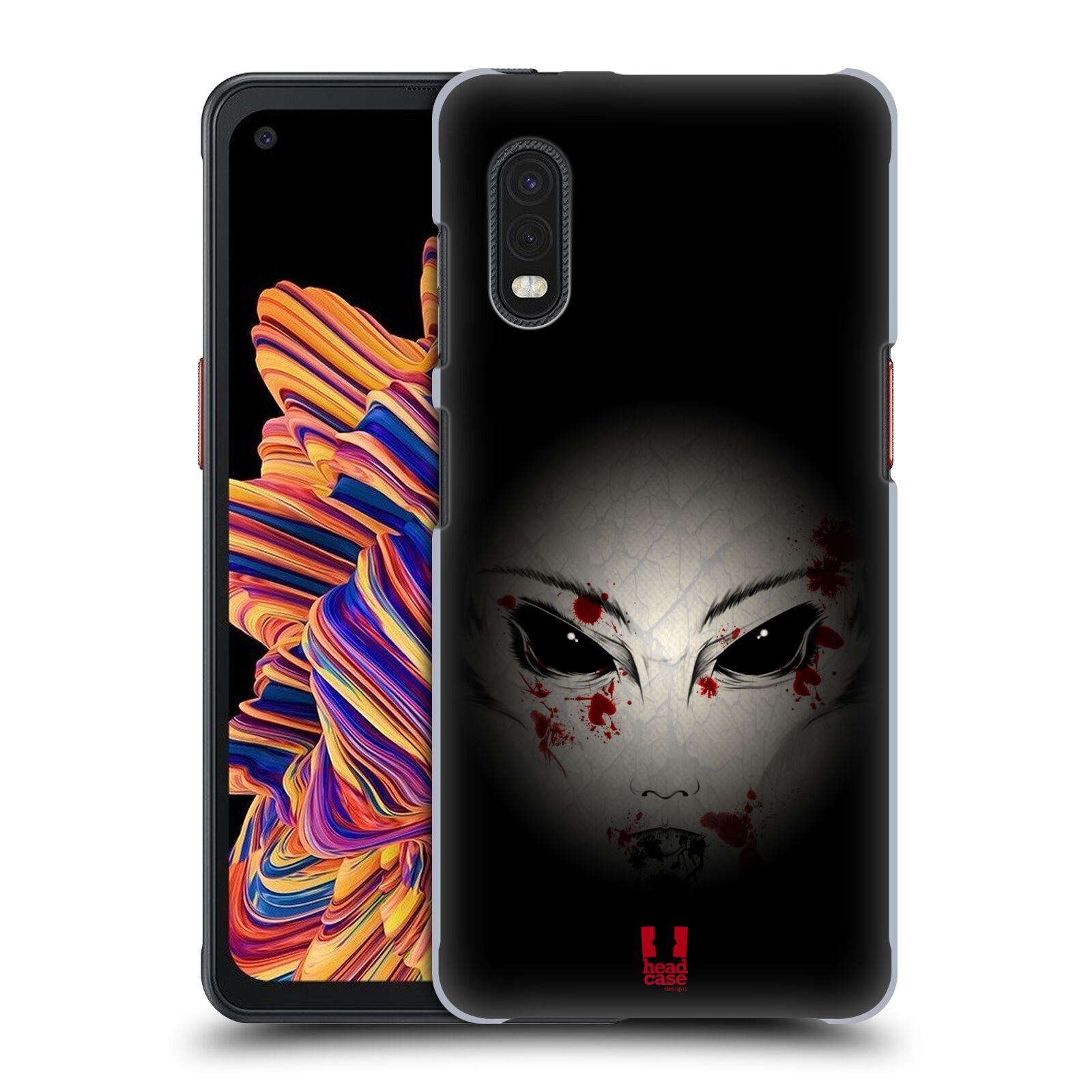 Plastové pouzdro na mobil Samsung Galaxy Xcover Pro - Head Case - Macabre