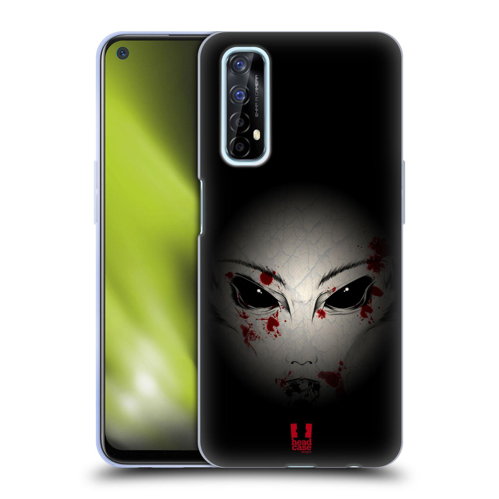 Silikonové pouzdro na mobil Realme 7 - Head Case - Macabre