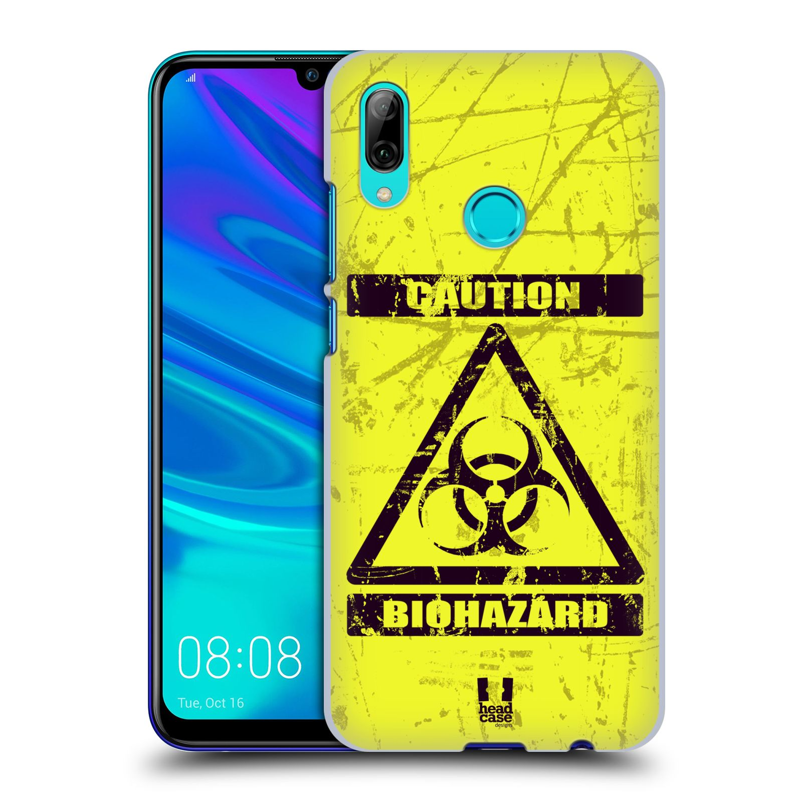 Plastové pouzdro na mobil Huawei P Smart (2019) - Head Case - BIOHAZARD