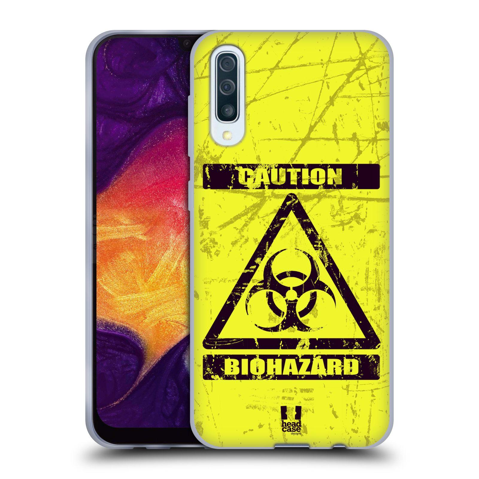 Silikonové pouzdro na mobil Samsung Galaxy A50 / A30s - Head Case - BIOHAZARD