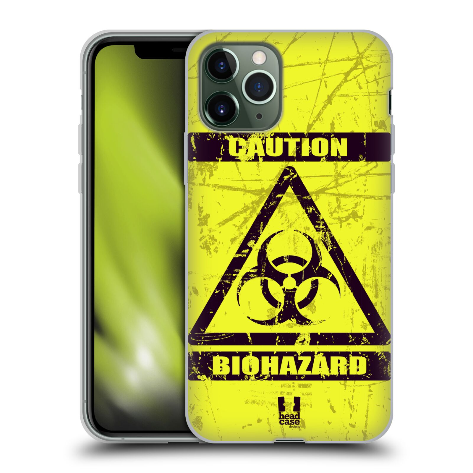 iphone 7 plus obal s bateriou , Silikonové pouzdro na mobil Apple iPhone 11 Pro - Head Case - BIOHAZARD