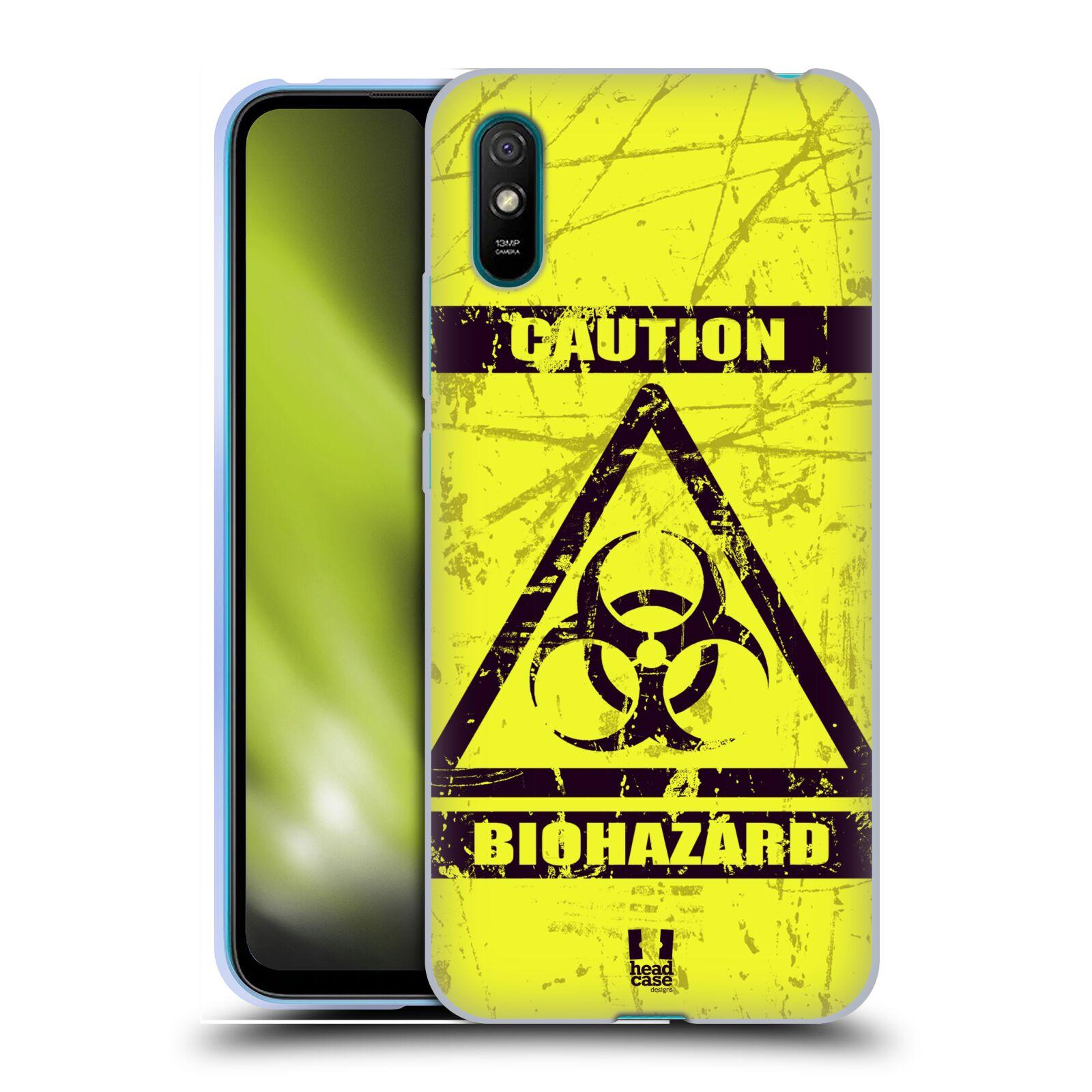 Silikonové pouzdro na mobil Xiaomi Redmi 9A / 9AT - Head Case - BIOHAZARD