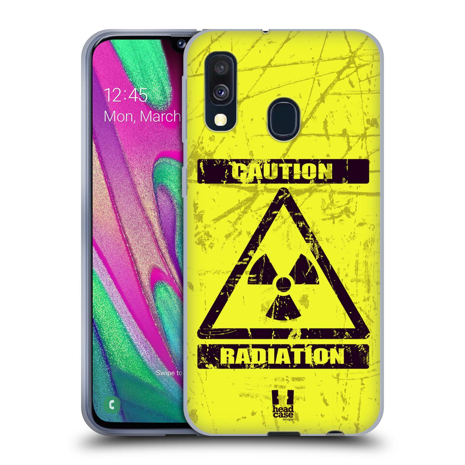 Silikonové pouzdro na mobil Samsung Galaxy A40 - Head Case - RADIACE