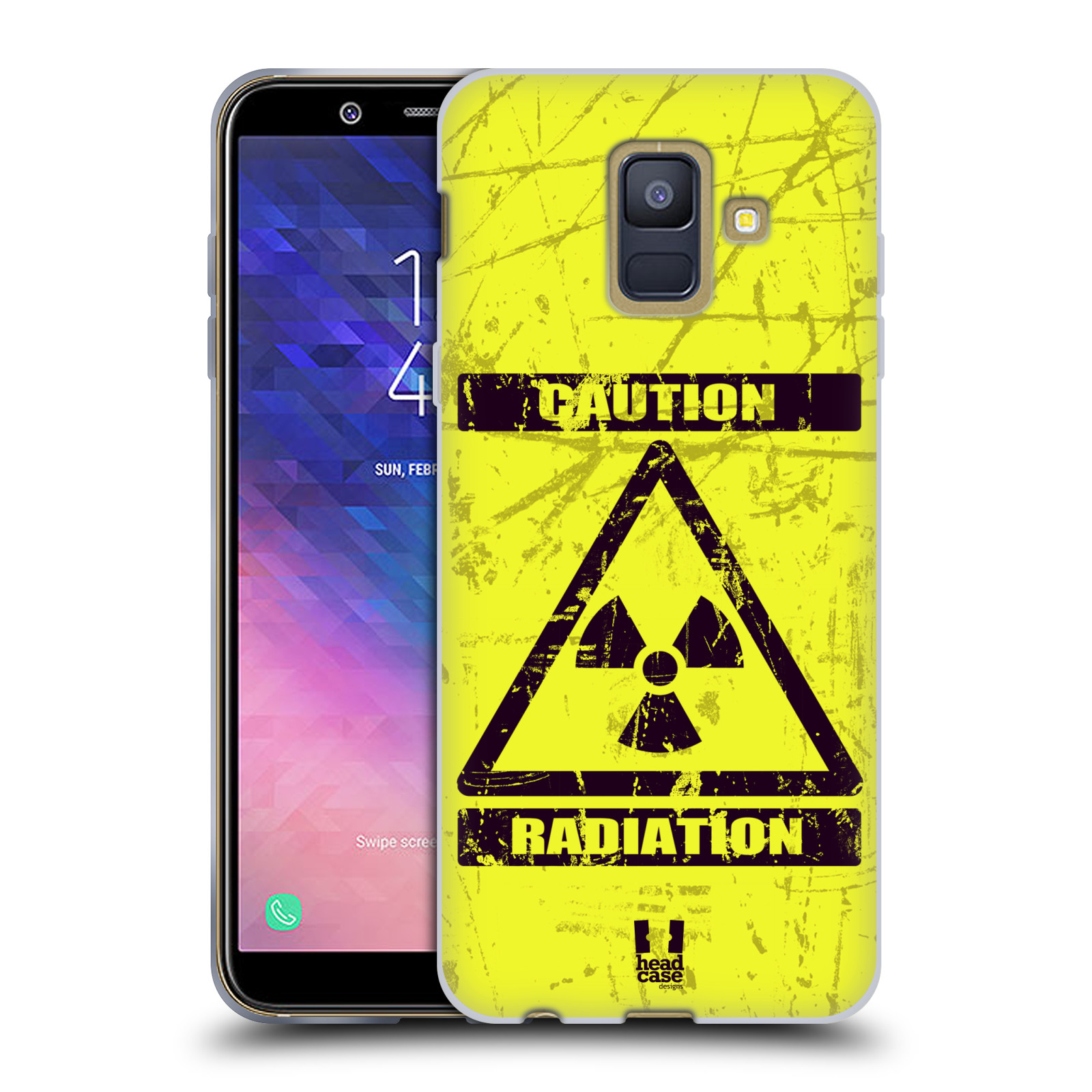 Silikonové pouzdro na mobil Samsung Galaxy A6 (2018) - Head Case - RADIACE