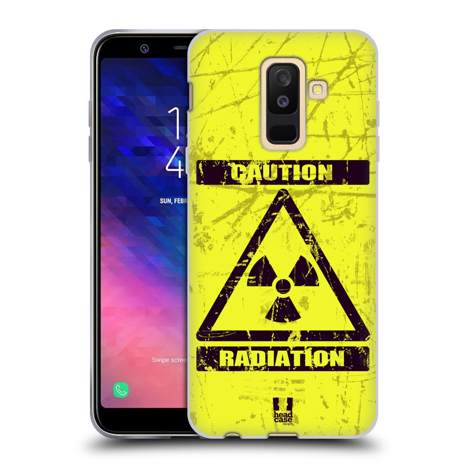 Silikonové pouzdro na mobil Samsung Galaxy A6 Plus (2018) - Head Case - RADIACE