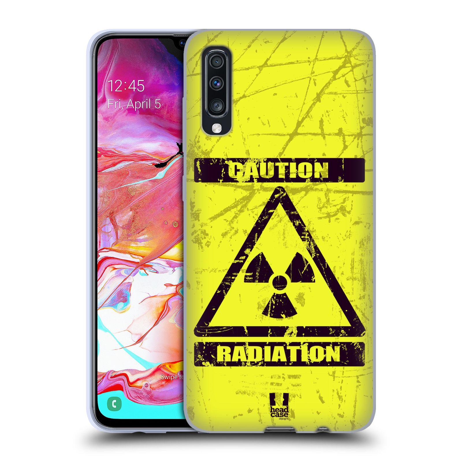 Silikonové pouzdro na mobil Samsung Galaxy A70 - Head Case - RADIACE