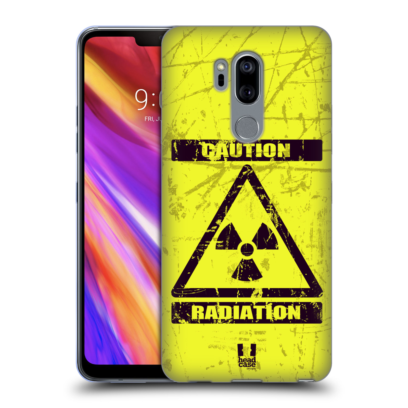 Silikonové pouzdro na mobil LG G7 ThinQ - Head Case - RADIACE