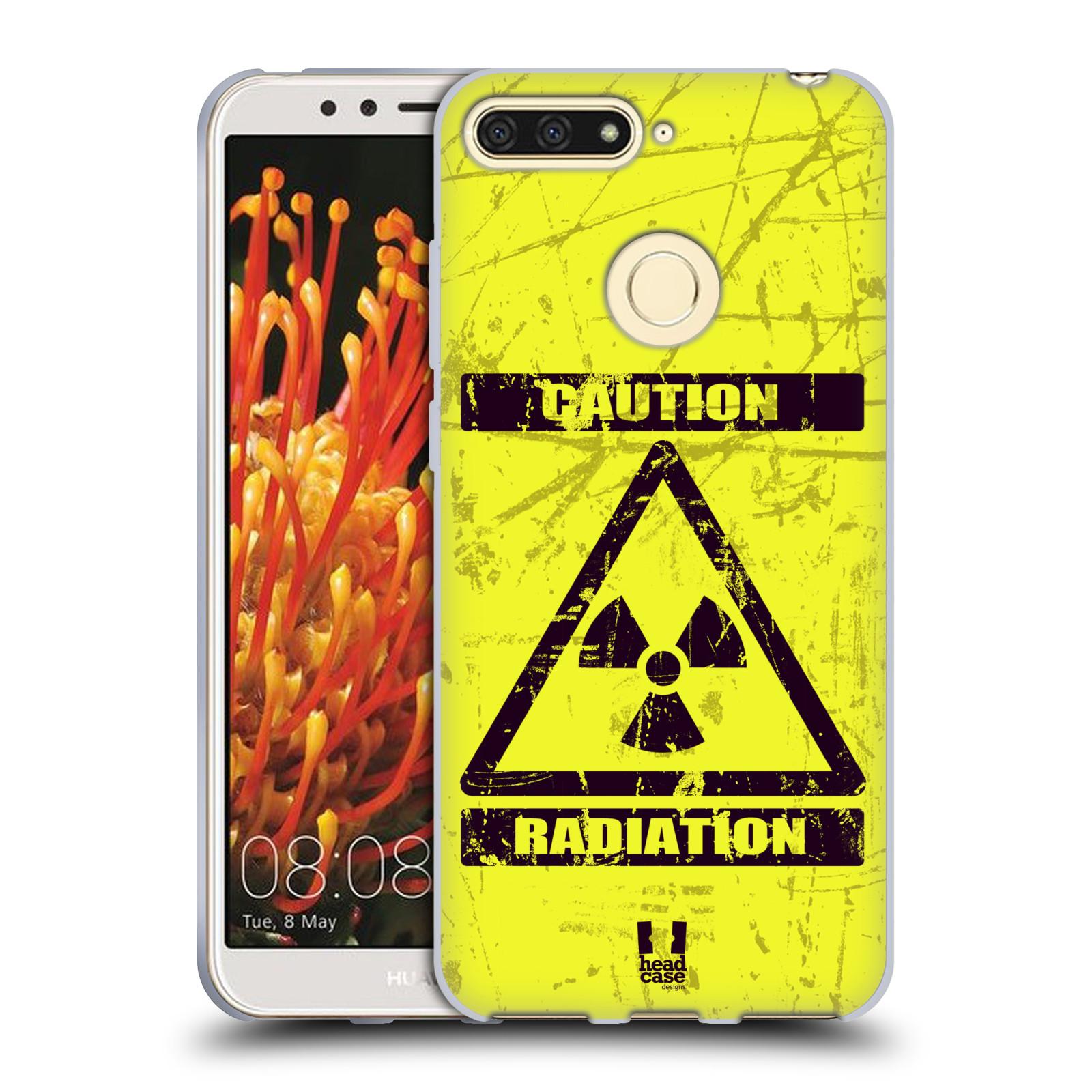 Silikonové pouzdro na mobil Honor 7A - Head Case - RADIACE