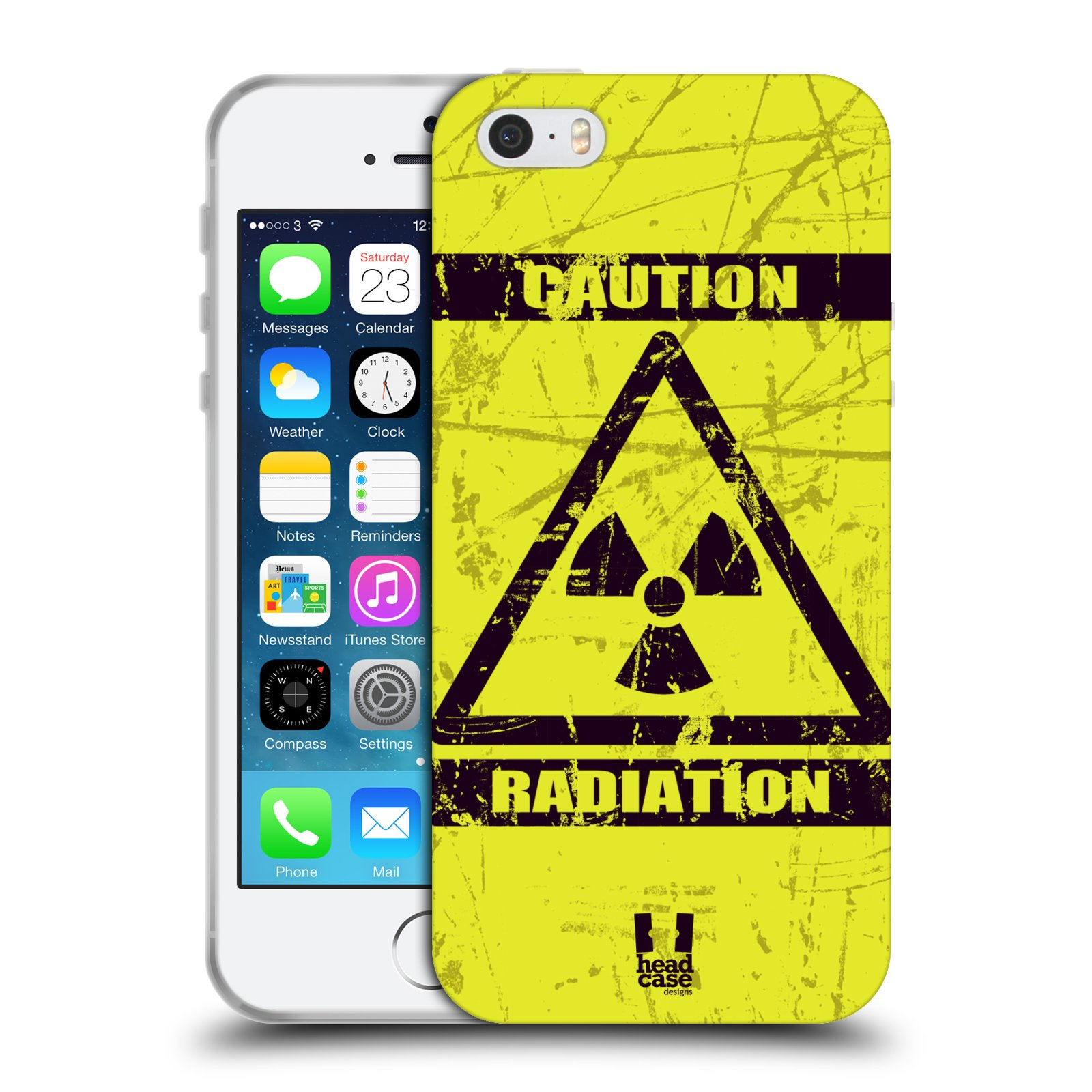 Silikonové pouzdro na mobil Apple iPhone 5, 5S, SE - Head Case - RADIACE