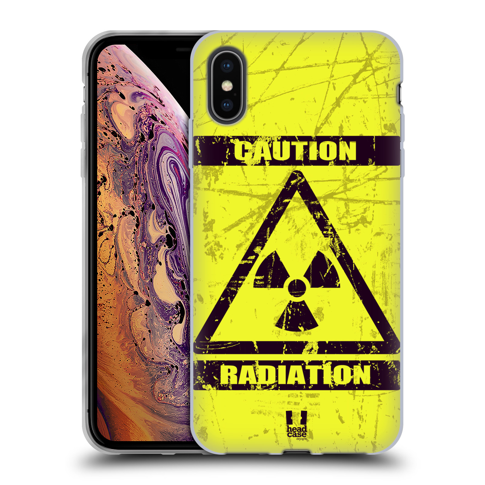 Silikonové pouzdro na mobil Apple iPhone XS Max - Head Case - RADIACE