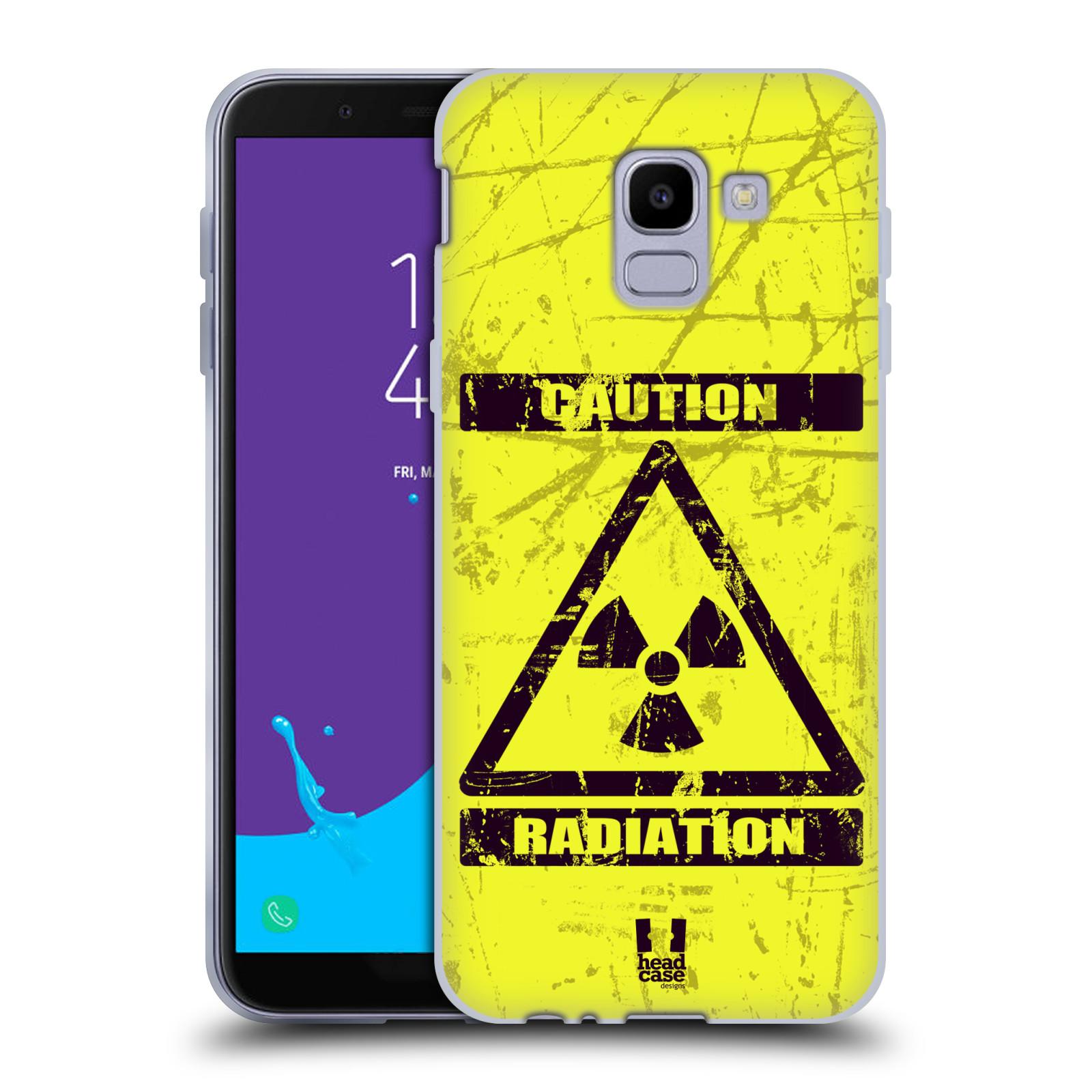 Silikonové pouzdro na mobil Samsung Galaxy J6 (2018) - Head Case - RADIACE
