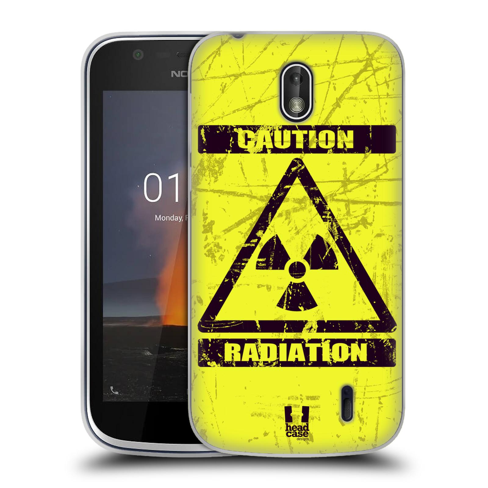 Silikonové pouzdro na mobil Nokia 1 - Head Case - RADIACE