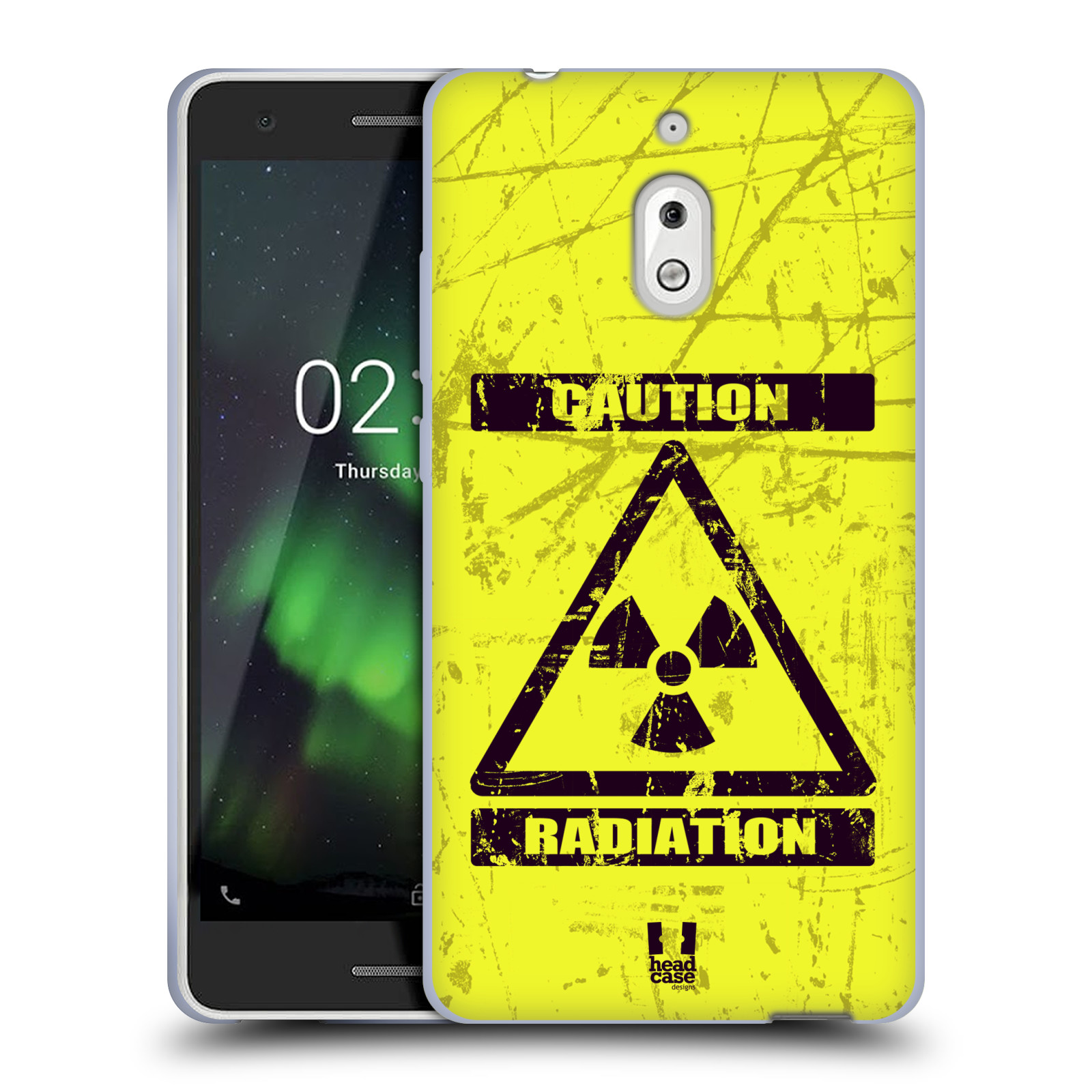 Silikonové pouzdro na mobil Nokia 2.1 - Head Case - RADIACE